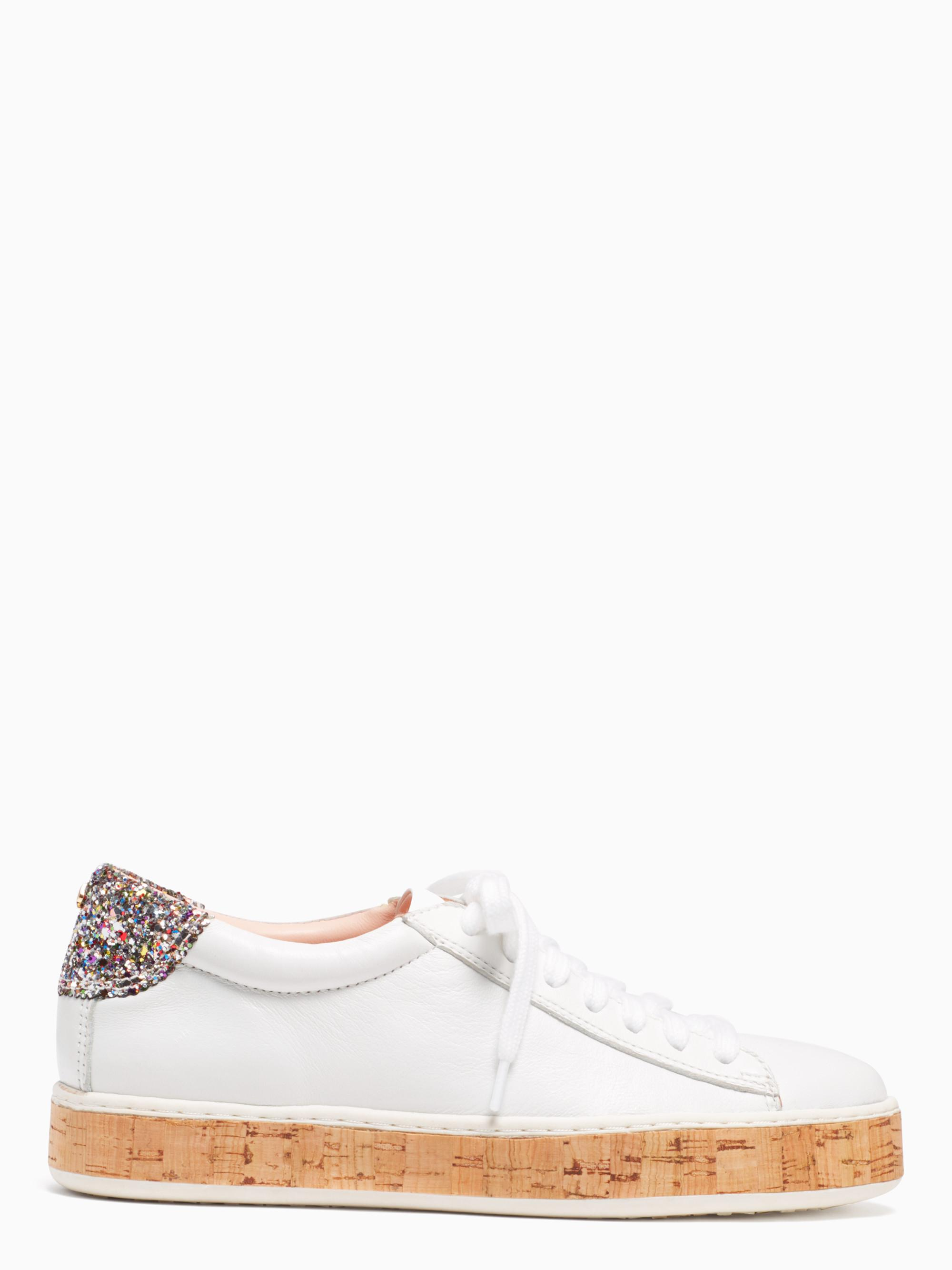 0e36d839ef61 Lyst - Kate Spade Amy Sneakers in White