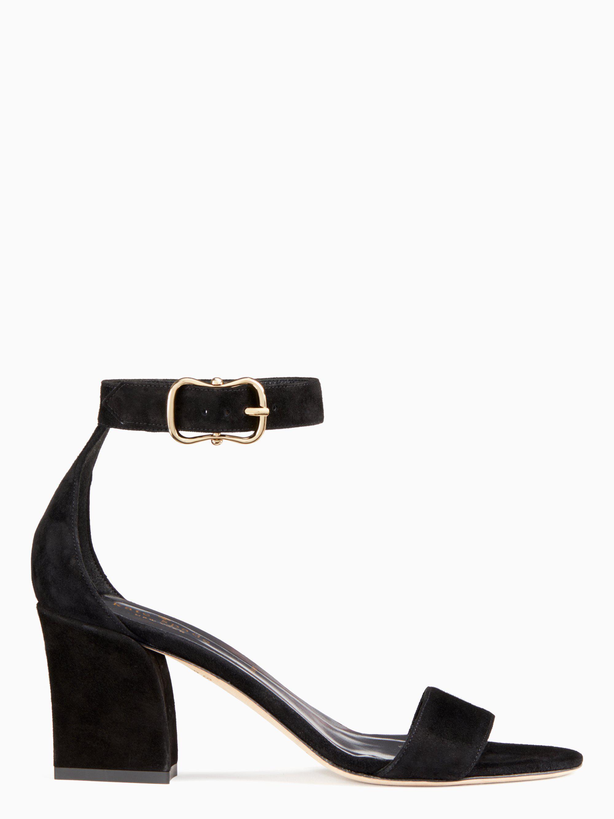 12e7767f0b333a Lyst - Kate Spade Susane Heels in Black - Save 20%