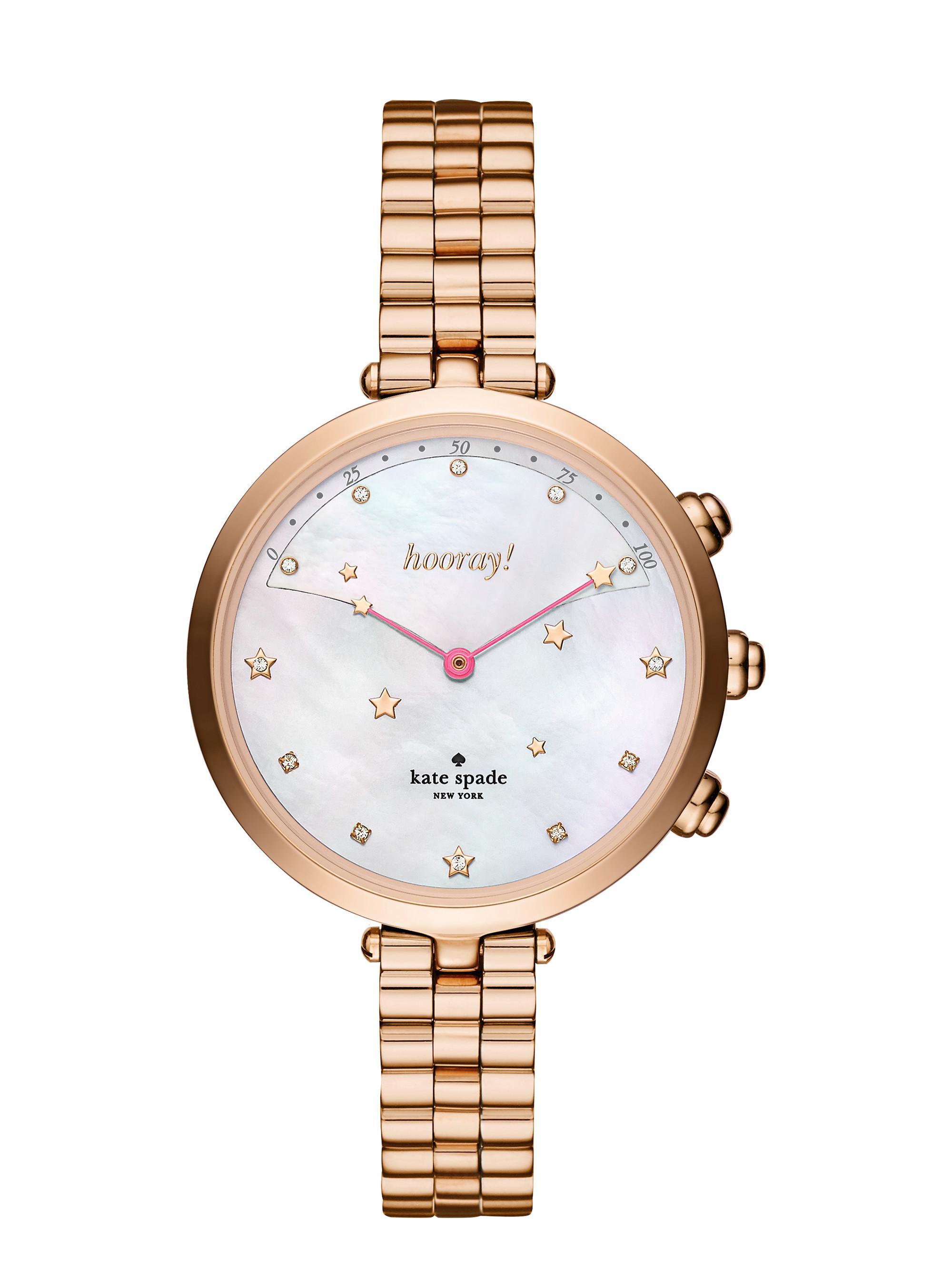 38787ed9d85 Lyst - Kate Spade Holland Bracelet Hybrid Smartwatch