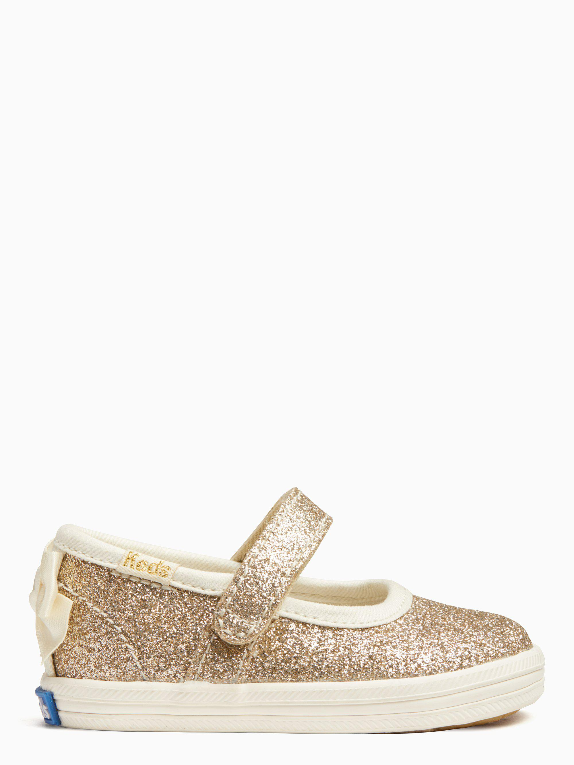 934540f23 Lyst - Kate Spade Keds X New York Sloan Mary Jane Crib Sneakers in ...
