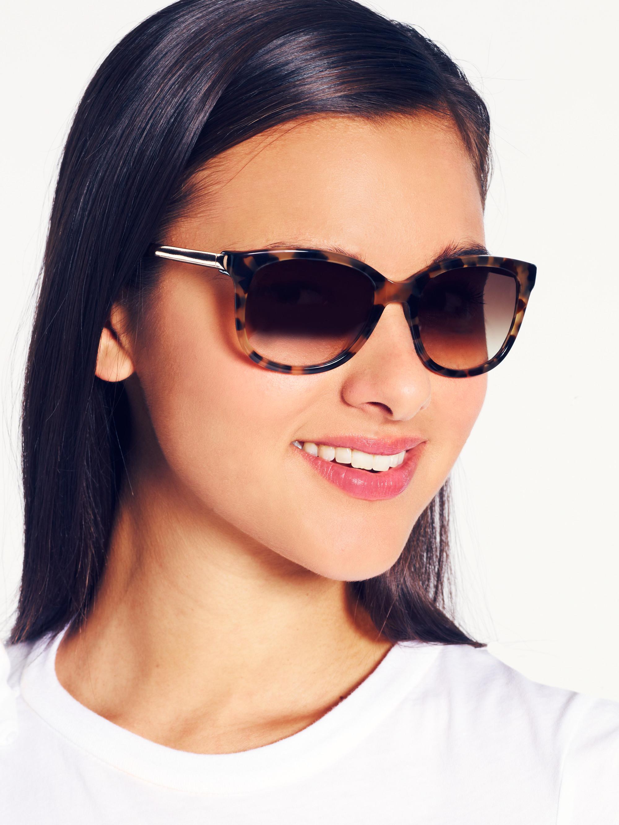 d579b1680a Lyst - Kate Spade Gayla Sunglasses in Brown