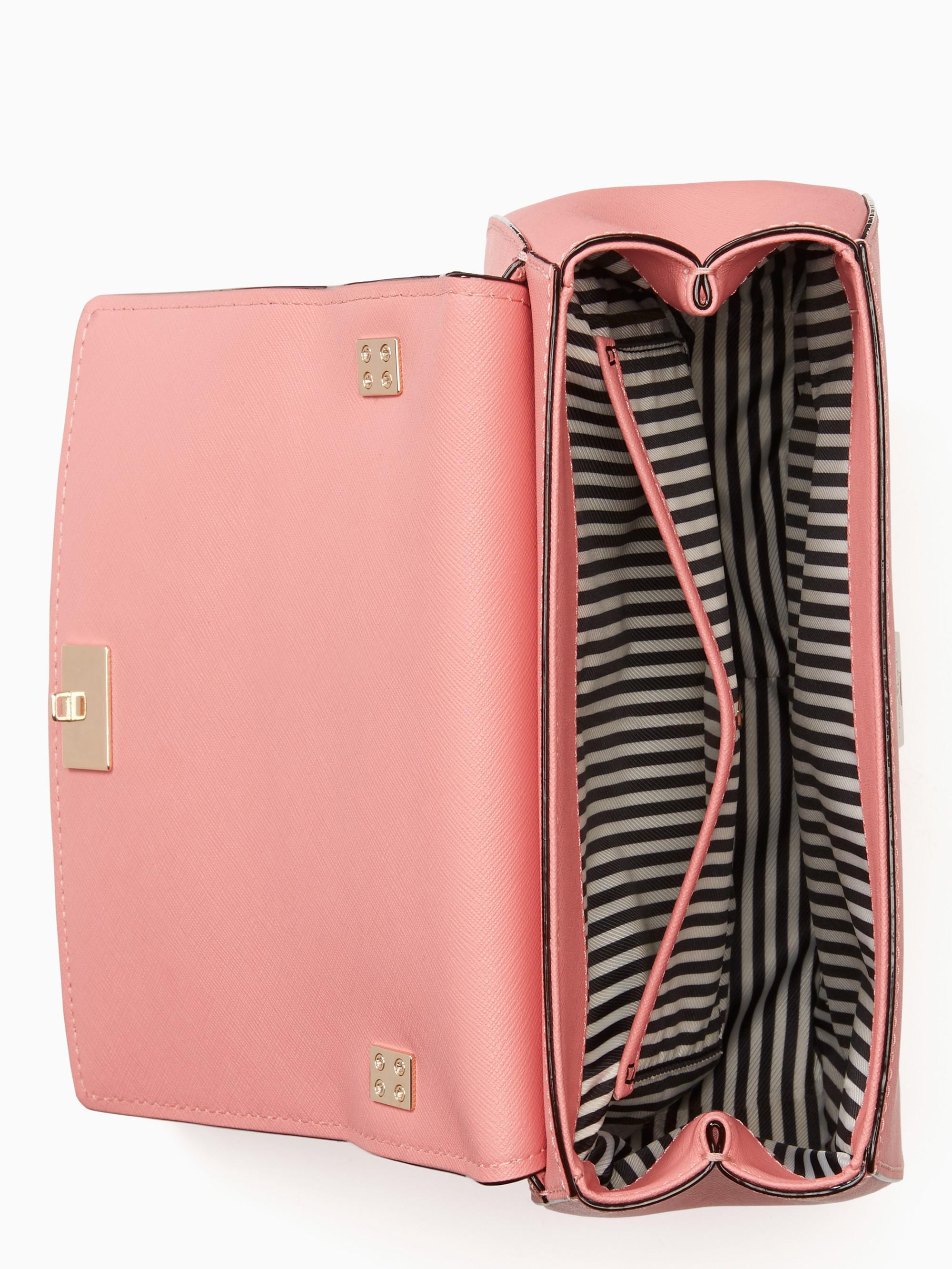 lyst kate spade new york cameron street byrdie in pink