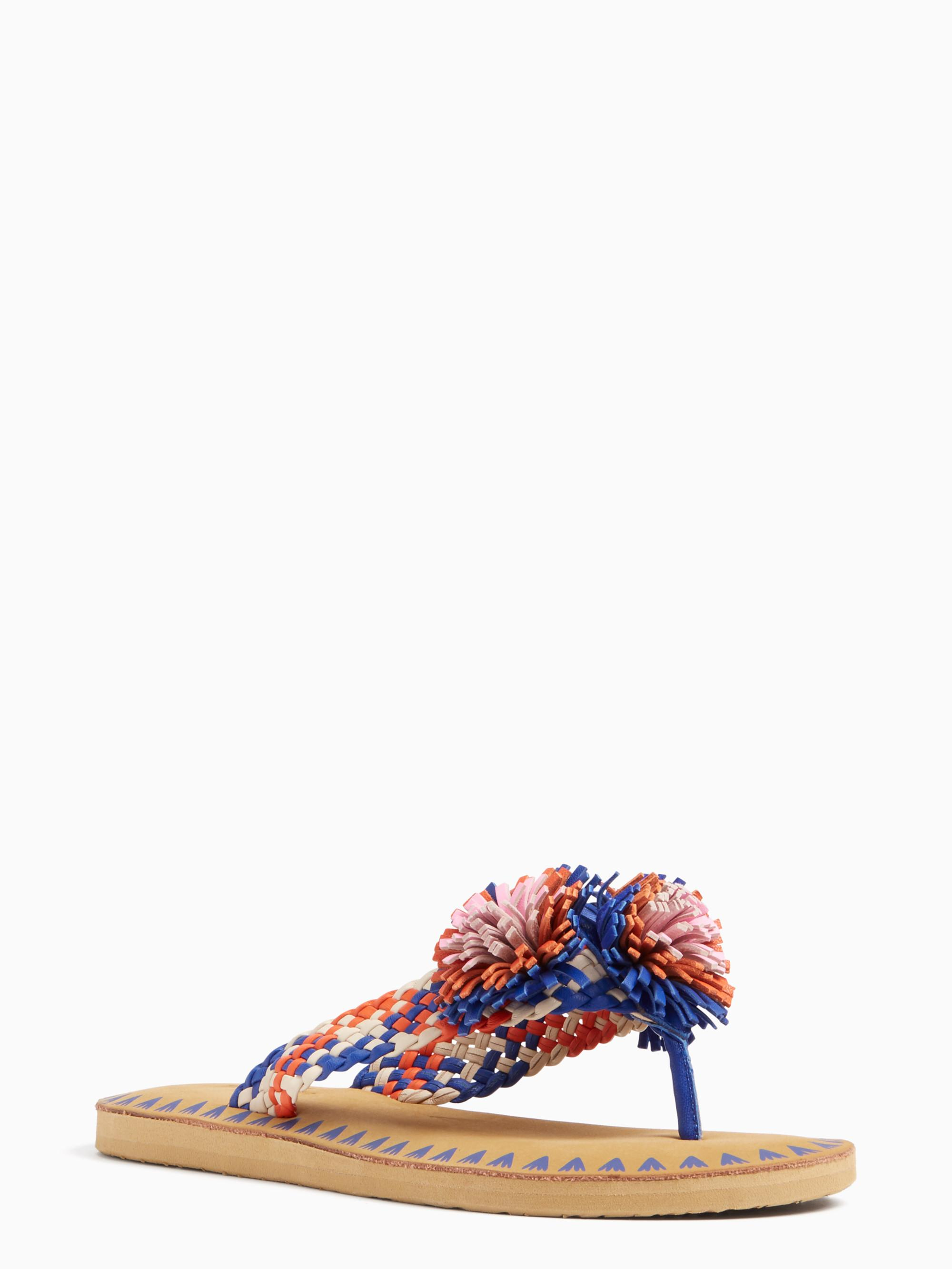 01bbe657cc9f Lyst - Kate Spade Idette Sandals in Blue