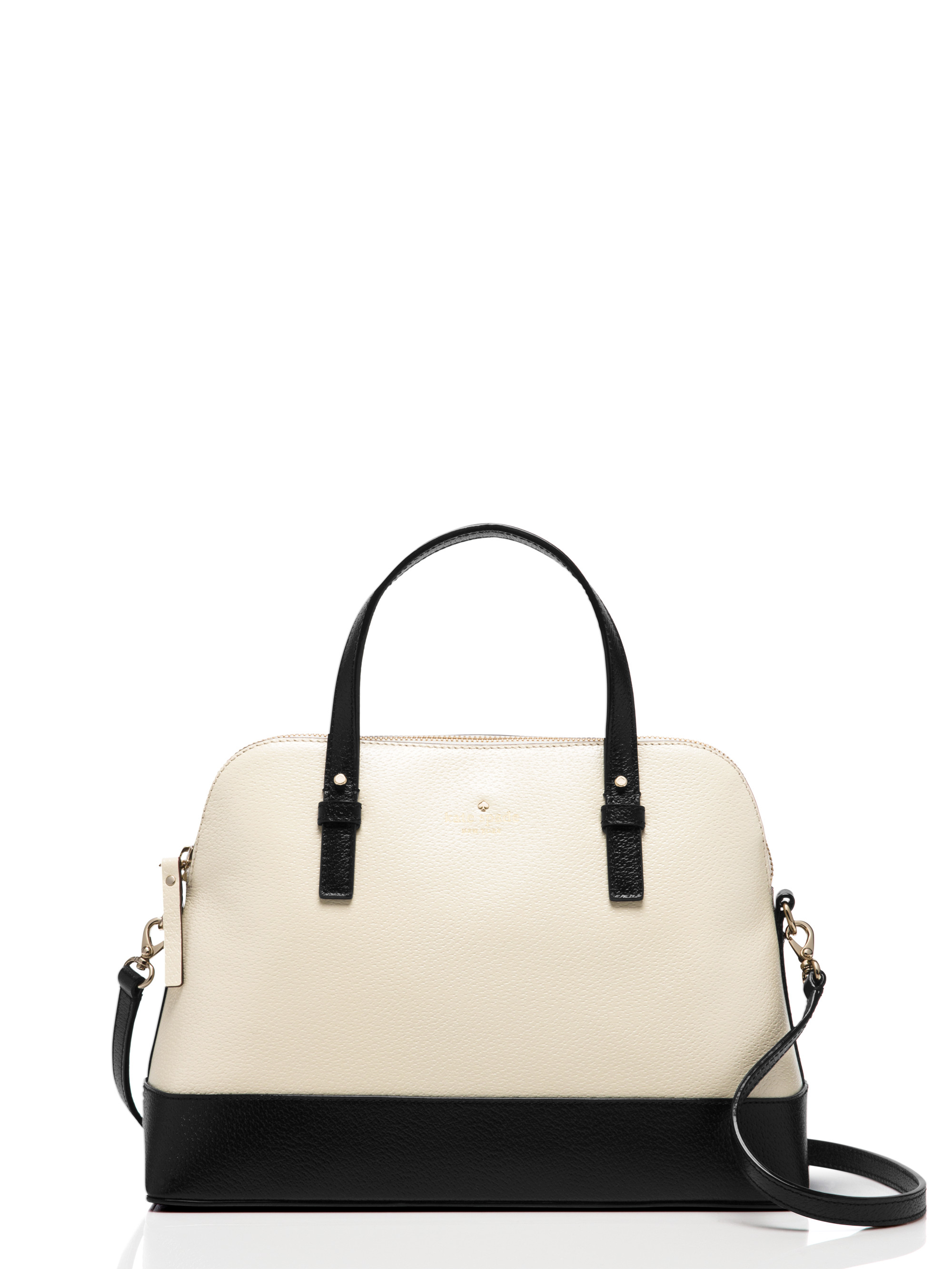 Lyst - Kate Spade Grand Street Colorblock Small Rachelle in Natural 781028516876b