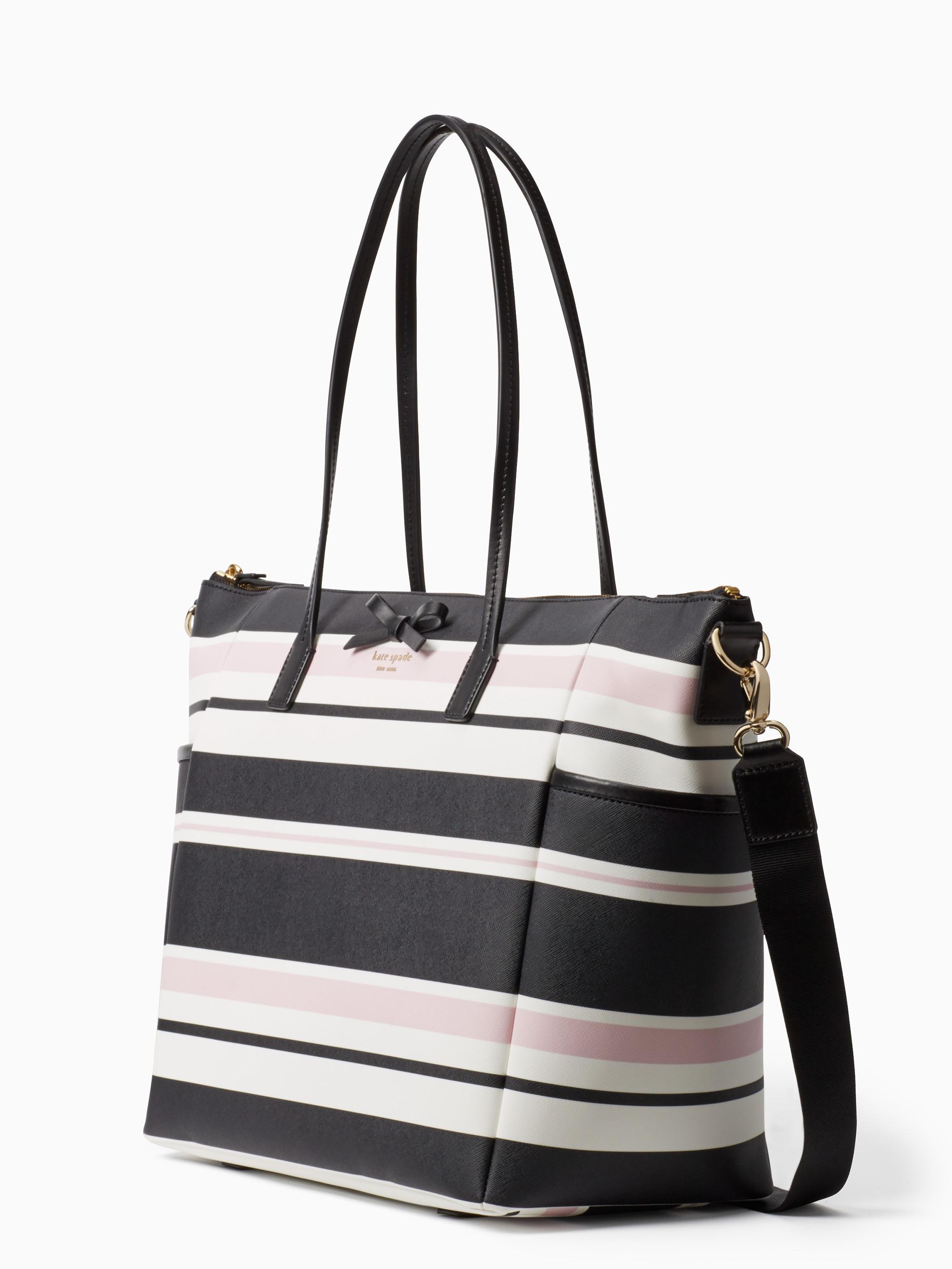 5ab9ccdb0b56 Lyst - Kate Spade Eden Street Adaira Baby Bag in Black