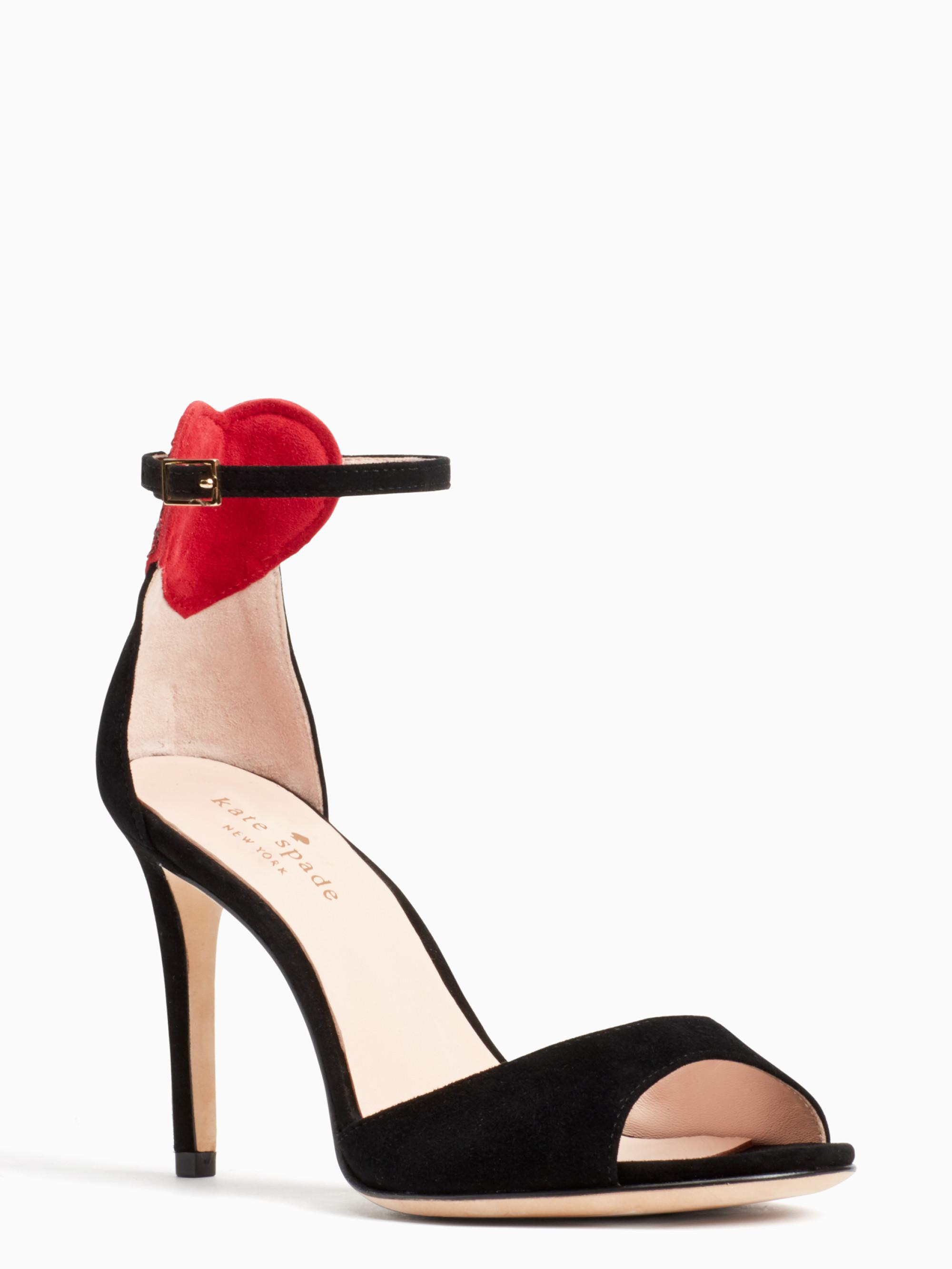 a578afad35f4 Kate spade olidah heels in black lyst jpg 2000x2666 Kate spade lynne heels