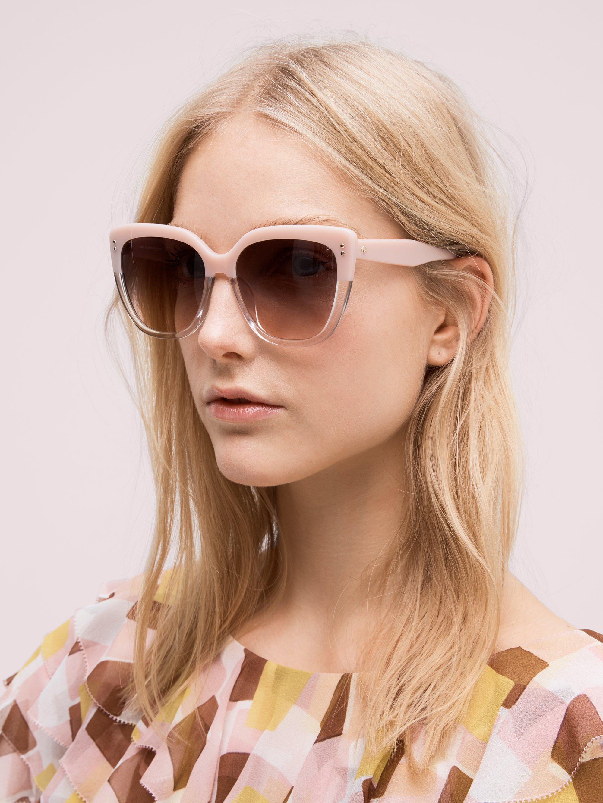 bd8f997d2a2e Lyst - Kate Spade Kiyanna Sunglasses in Pink