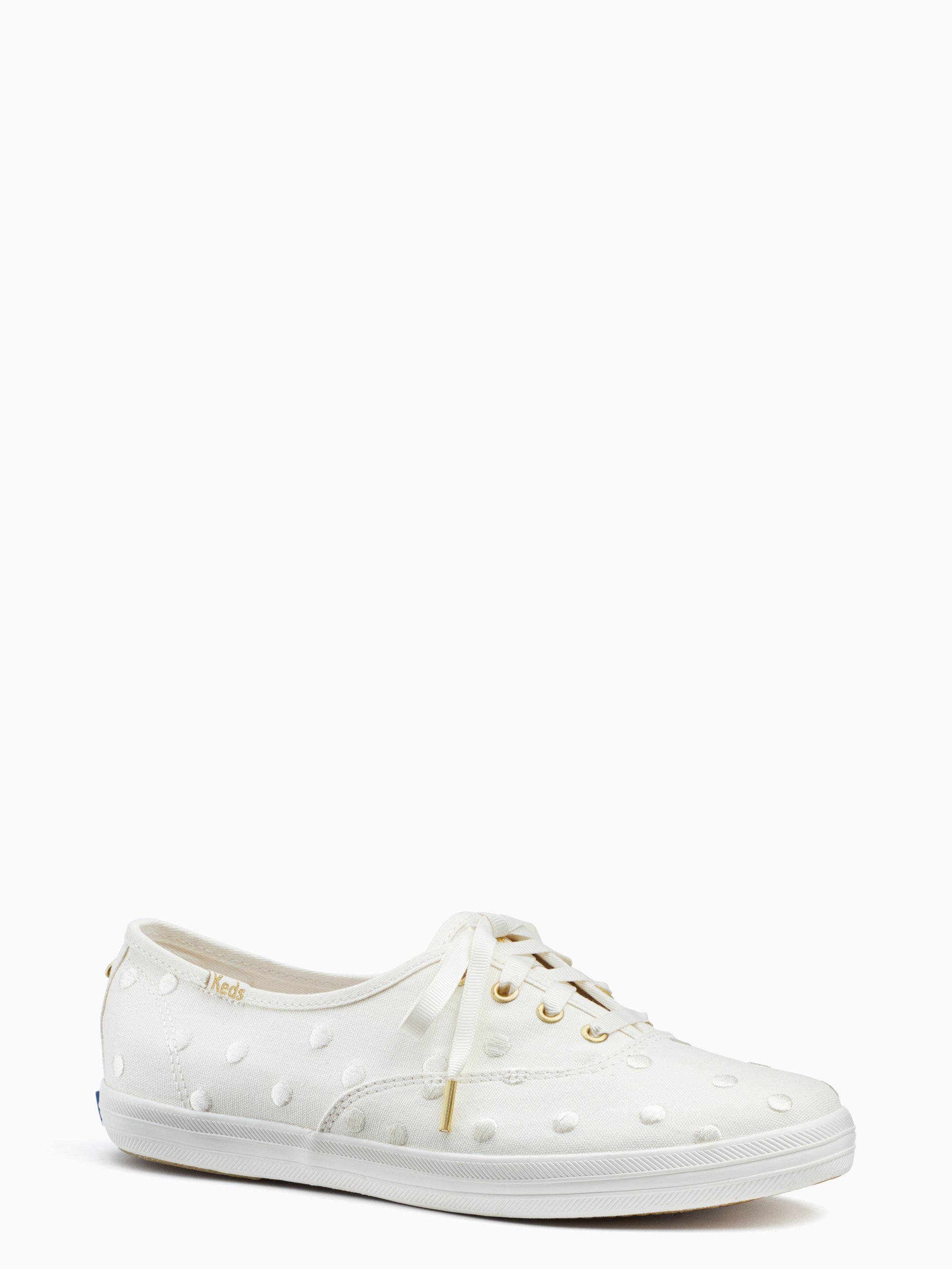 6d11e8441e Lyst - Kate Spade Keds X New York Champion Sneakers in White
