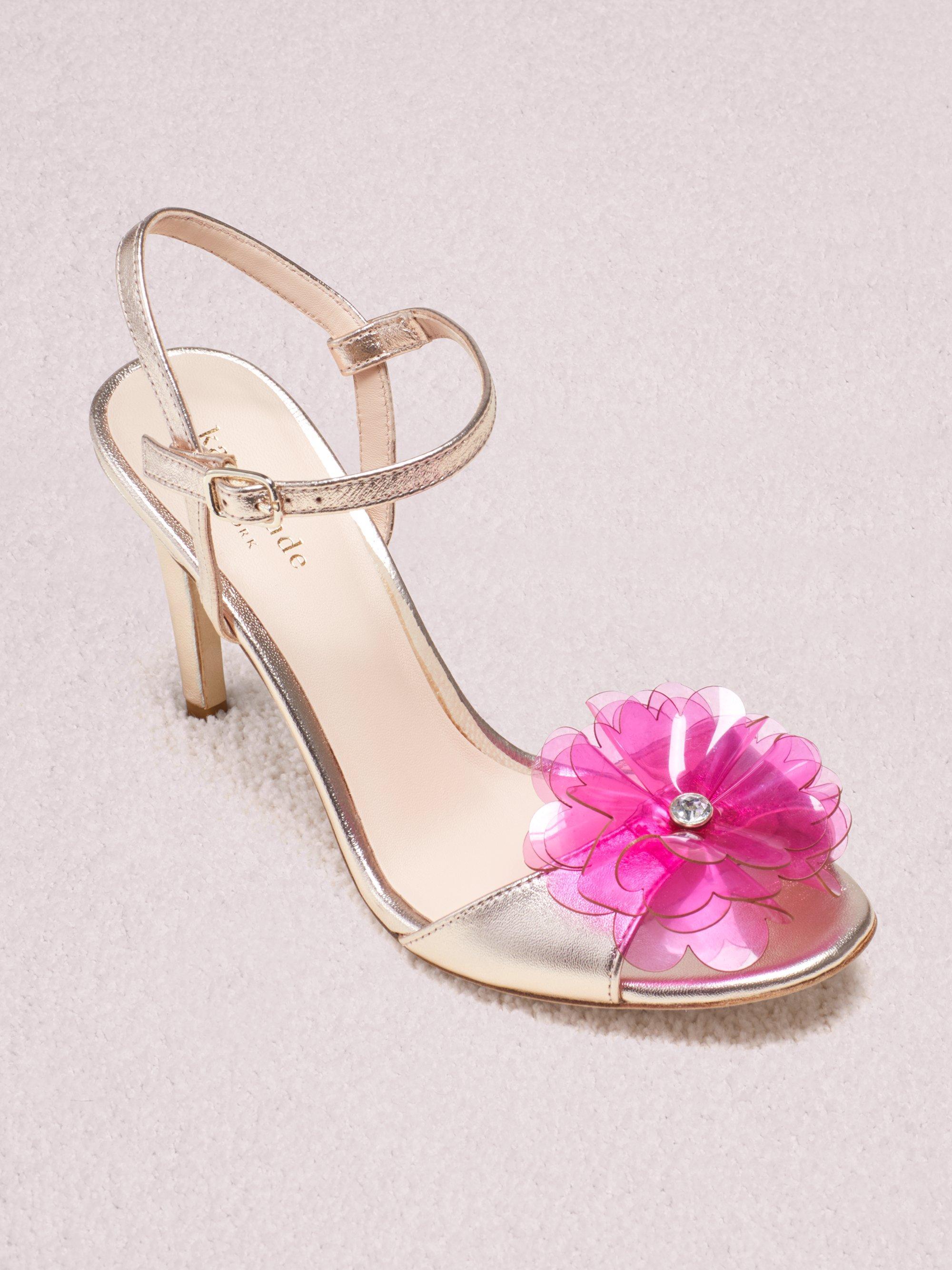 6bda4177b0be Lyst - Kate Spade Giulia Sandals in Pink