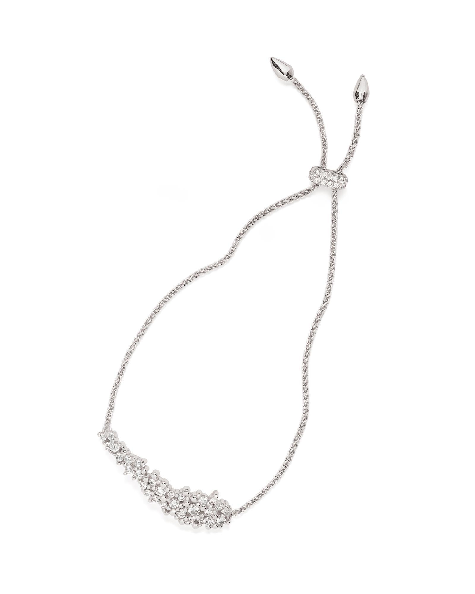 5a2c26ebe98d8a Lyst - Kendra Scott Nolan Adjustable Chain Bracelet in Metallic ...