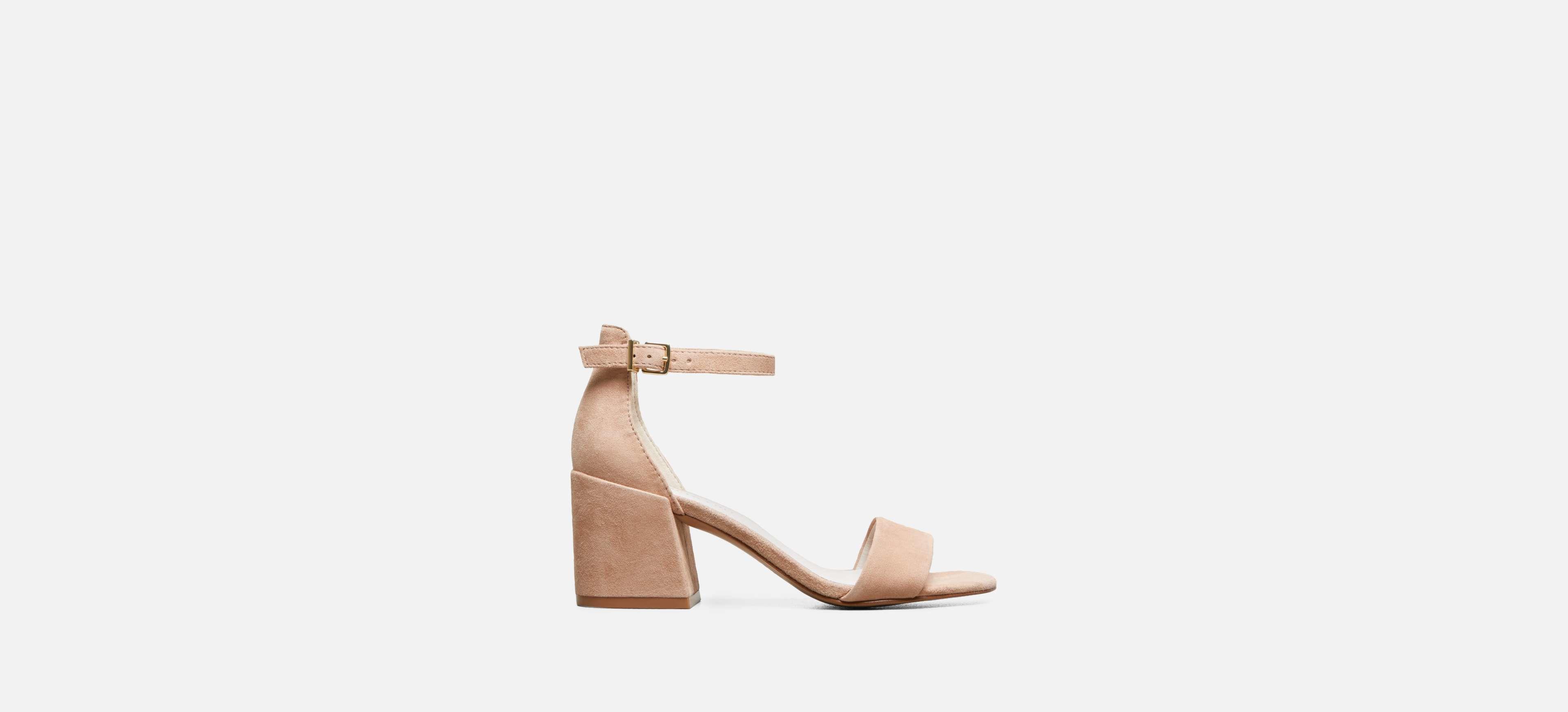 63b747fd3b025 Kenneth Cole. Women s Hannon Block Heel Suede Sandal