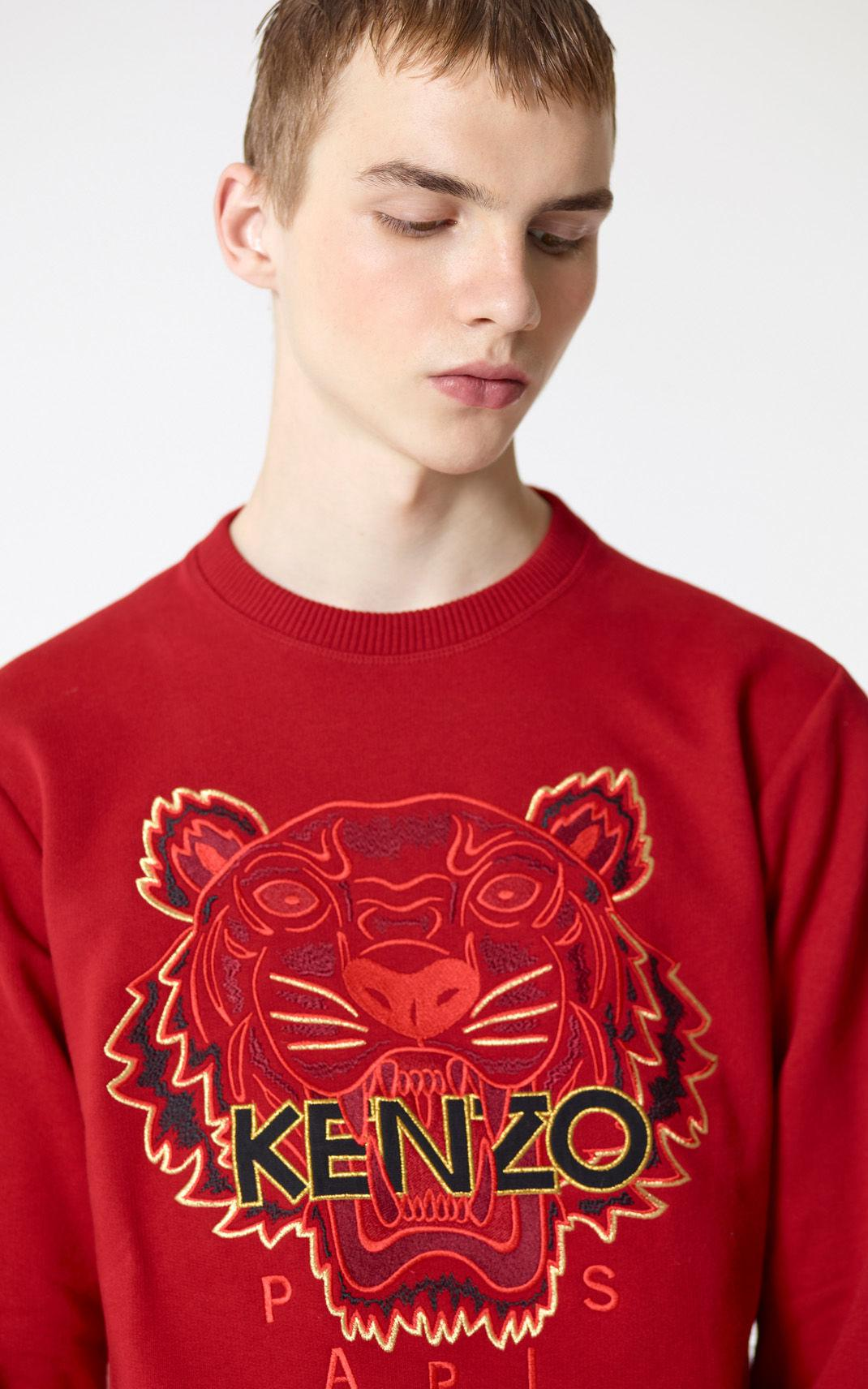 f5063ff6ee7 KENZO 'chinese Ny Capsule Collection' Tiger Sweatshirt in Red for ...