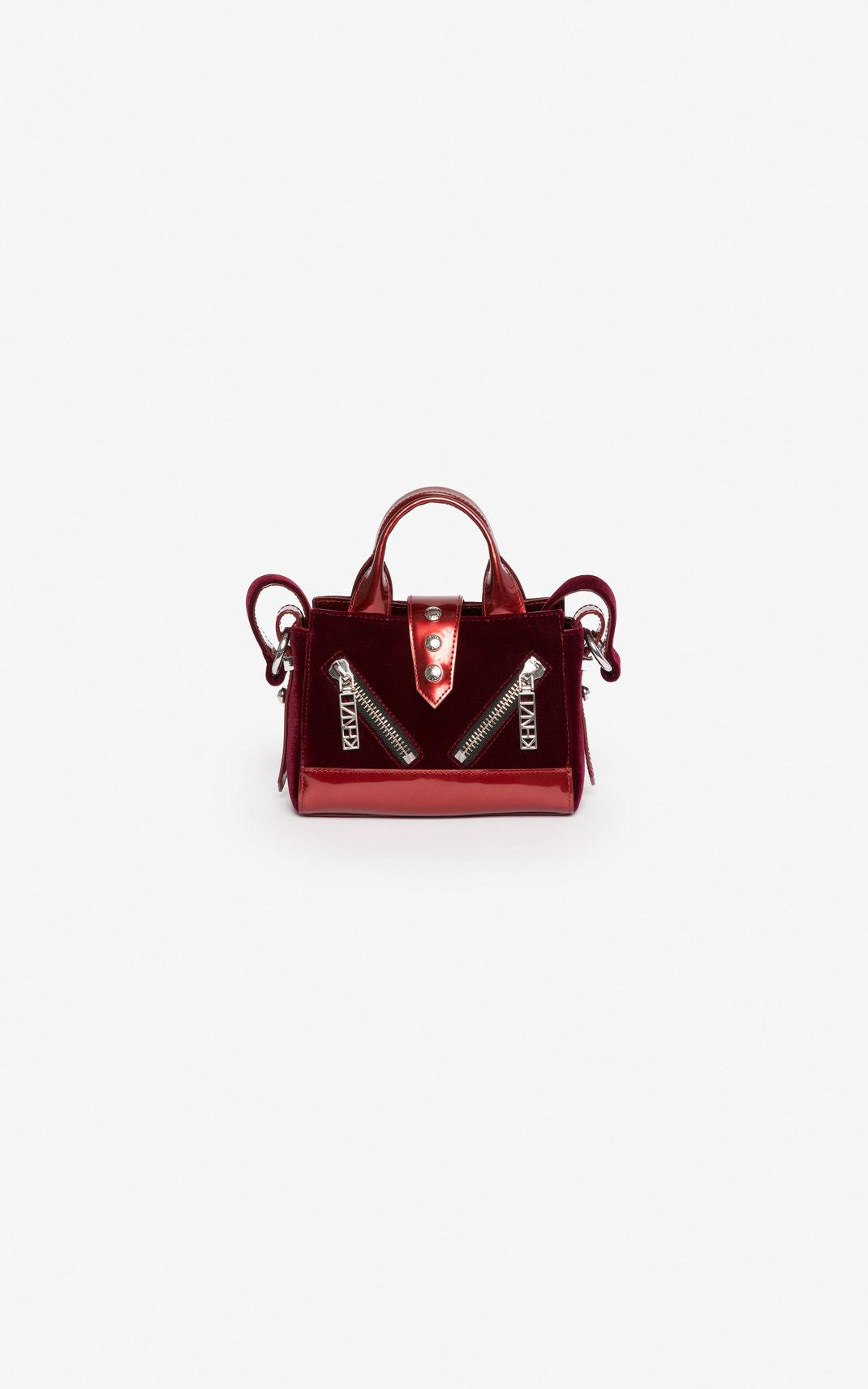 84d5bc91 Kenzo Micro Kalifornia Handbag 'holiday Capsule' in Red - Lyst
