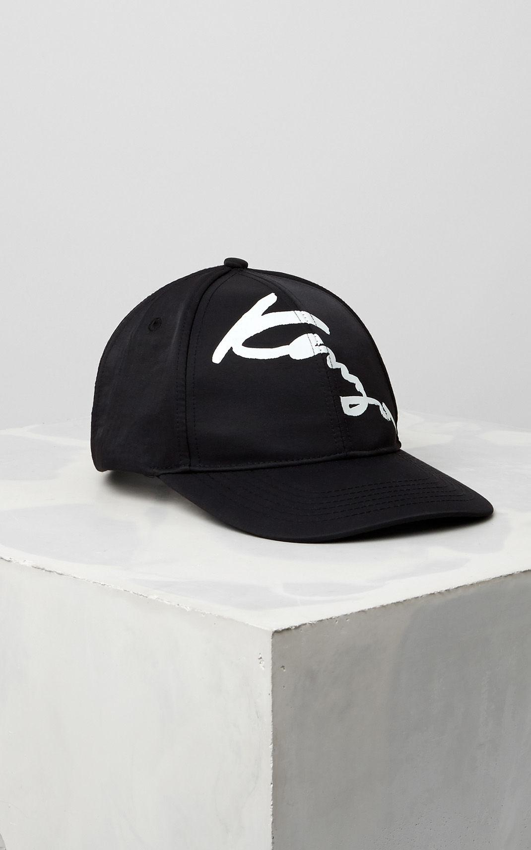 1ceb7d34805 Kenzo Signature Baseball Cap in Black for Men - Lyst