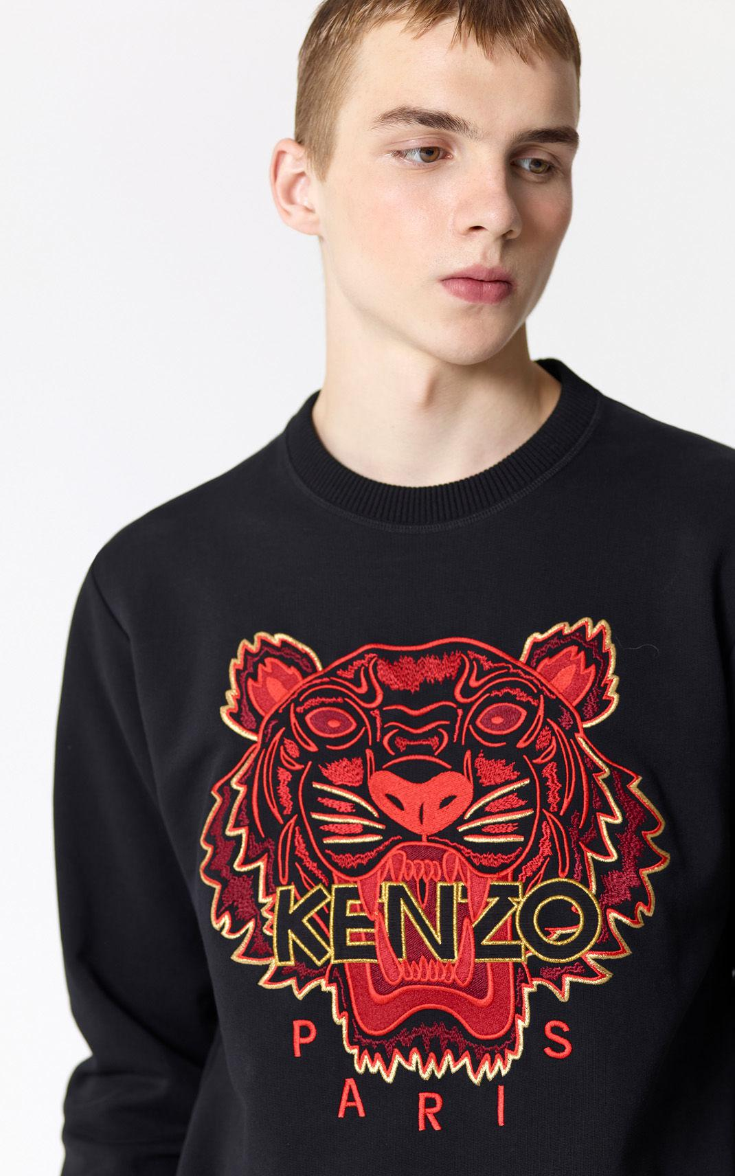 ef4fab48f46 KENZO 'chinese Ny Capsule Collection' Tiger Sweatshirt in Black for ...