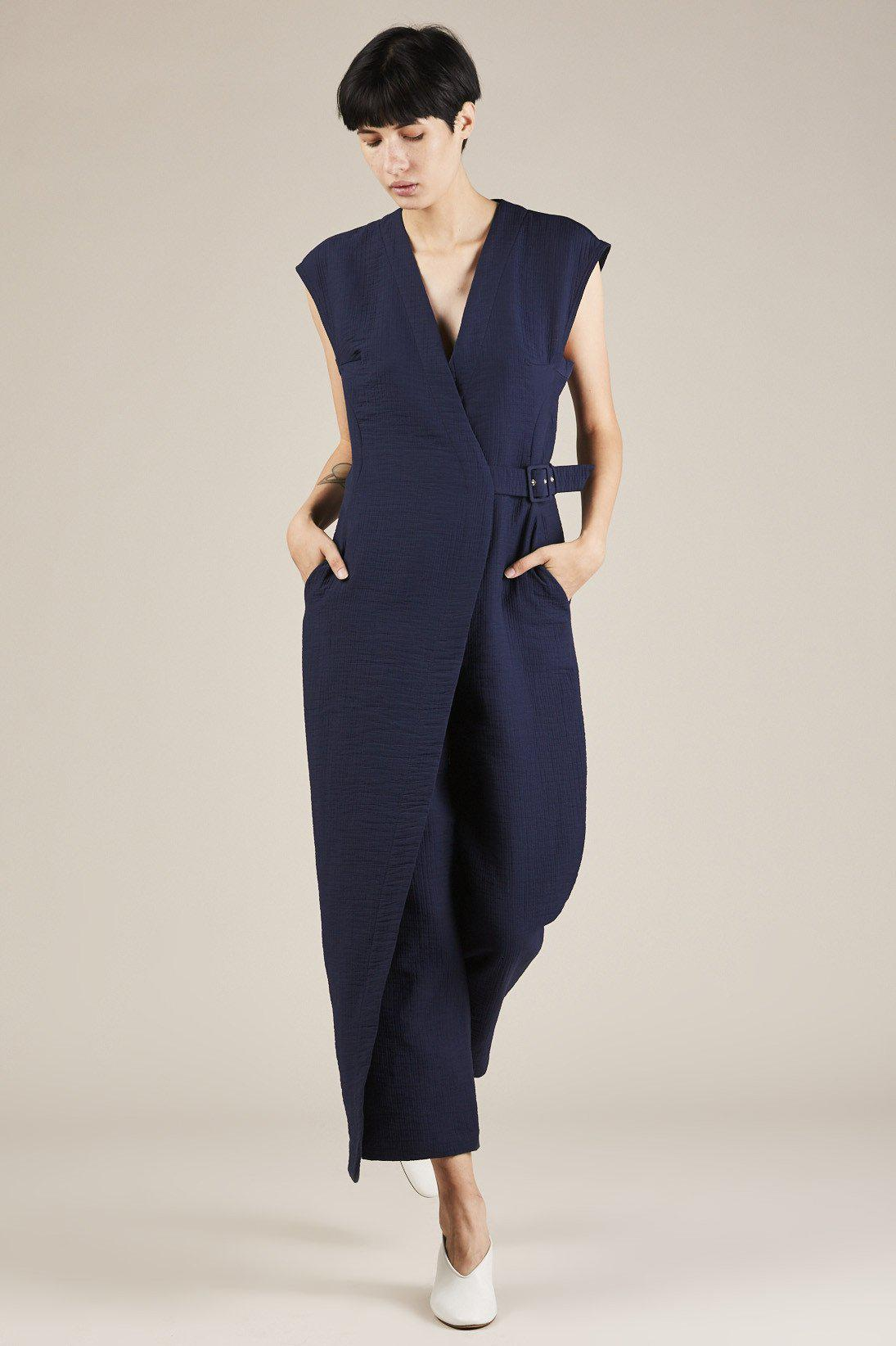 5a2b222e48d Lyst - Rachel Comey Steadfast Jumpsuit in Blue