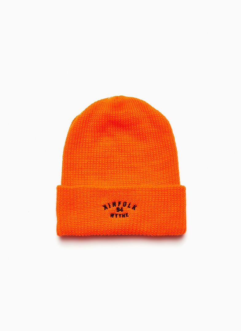 d49e781a20b Lyst - Kinfolk 94 Wythe Beanie Orange in Orange for Men