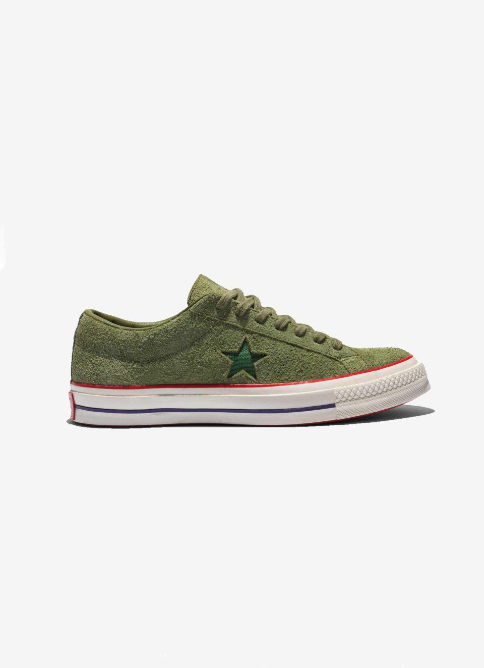 65380f00a307 Lyst - Converse X Undefeated One Star Ox Olive in Green for Men