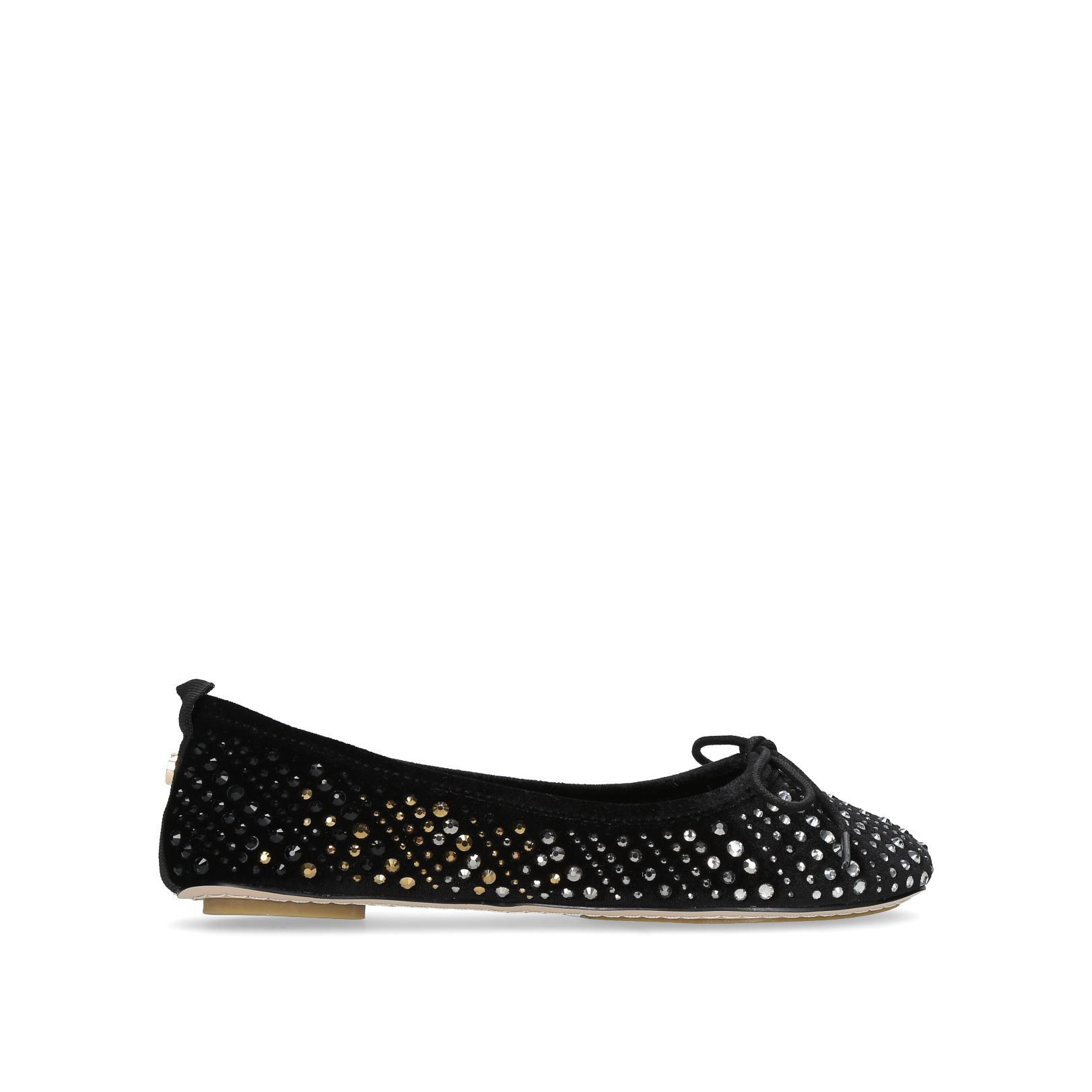 Kurt Geiger Black Sparkle Shoes
