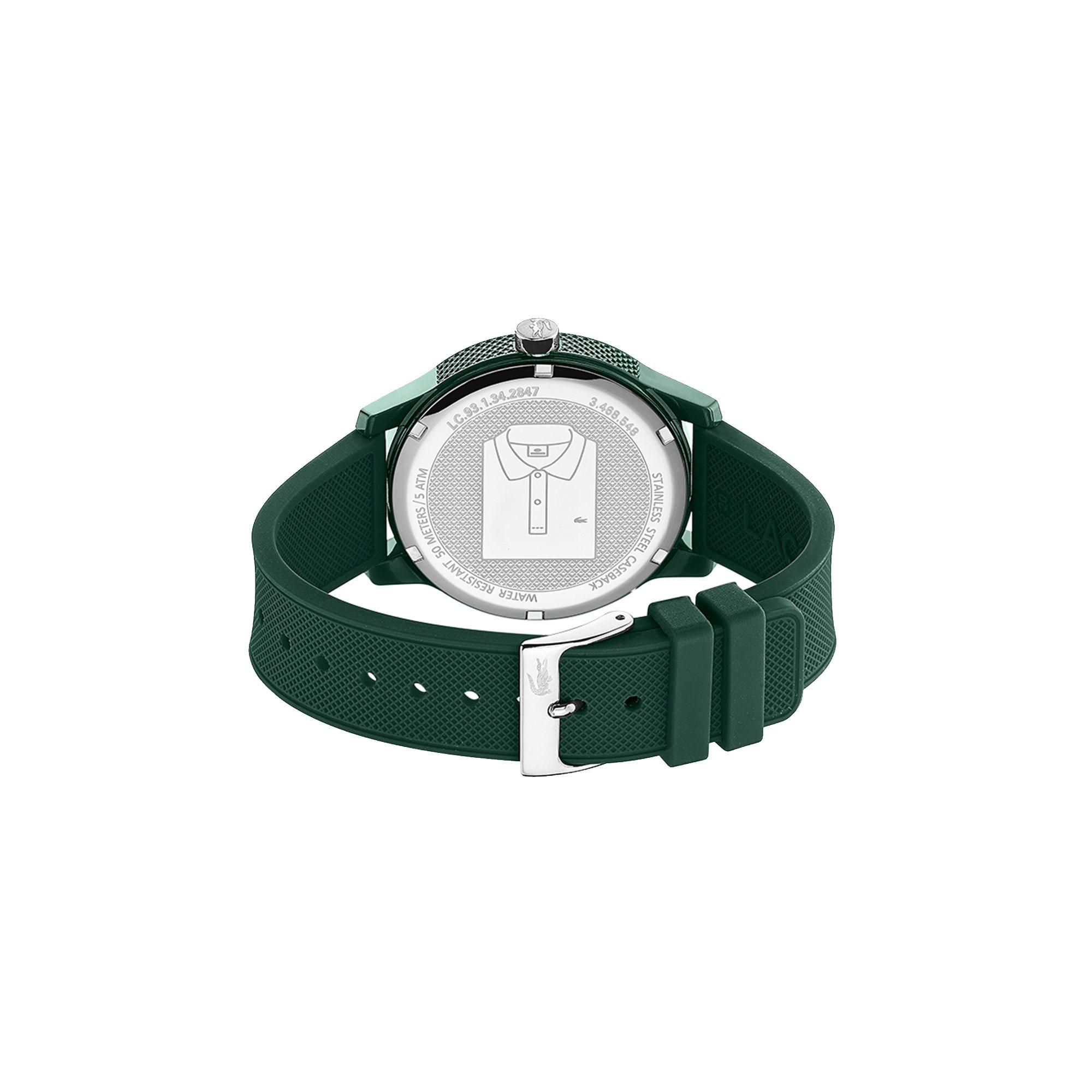 179796f9a1 Lyst - Lacoste Ladies Moon Watch With Blue Leather Strap in Green