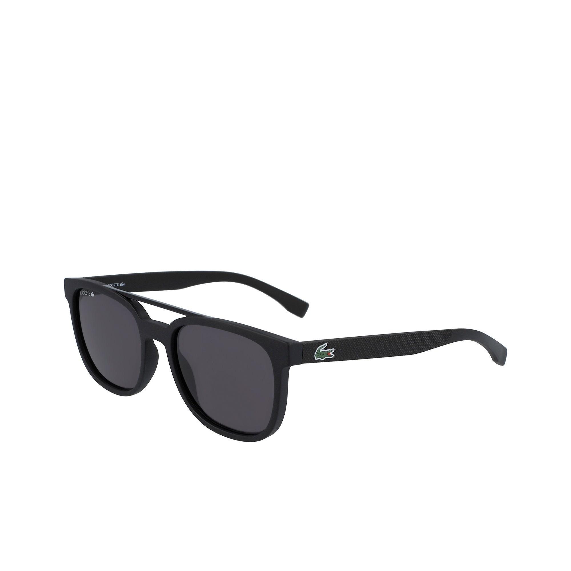 1a56f90d097c Lyst - Lacoste Plastic Petit Piqué L.12.12 Sunglasses in Black
