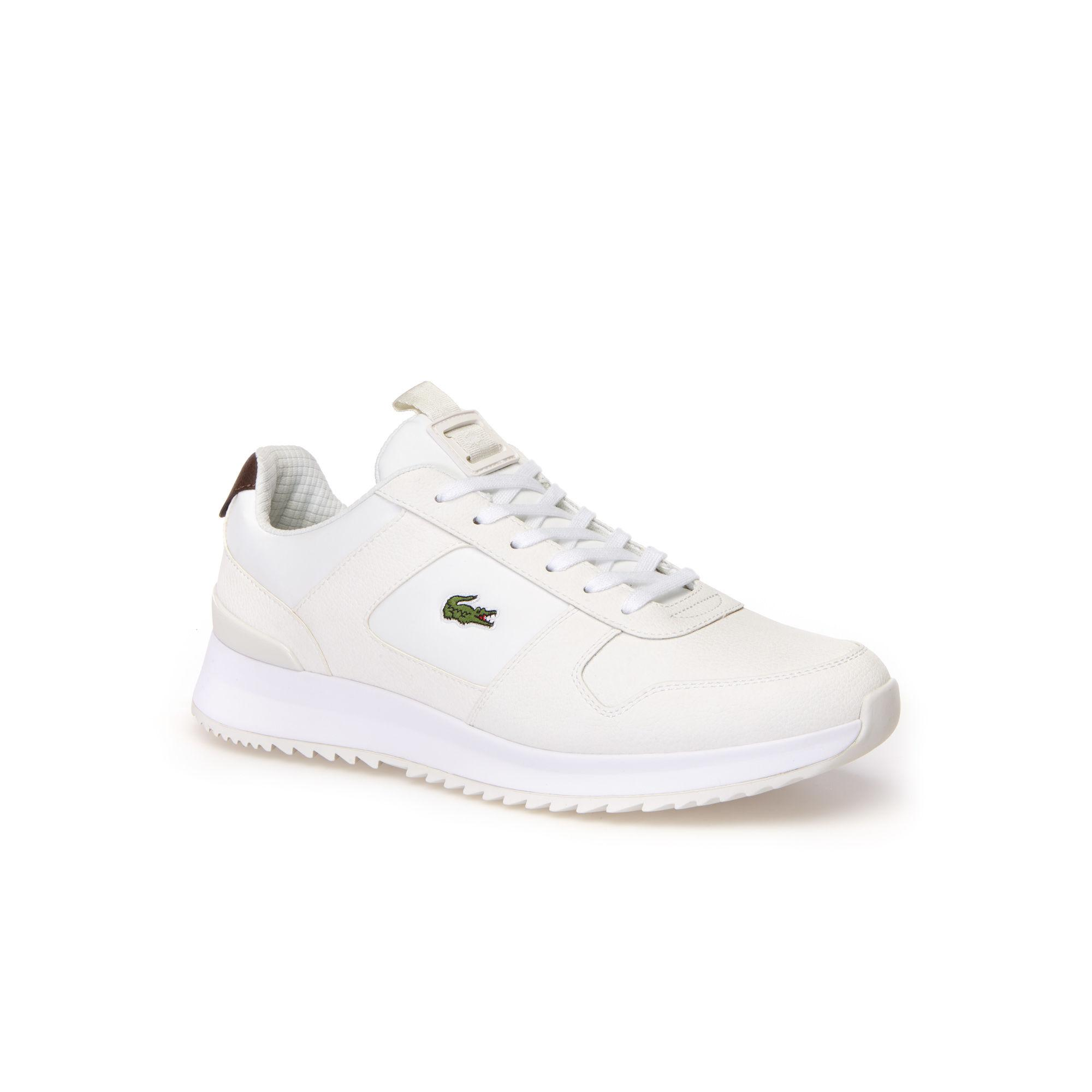 9010b4addf2d8 Lyst - Lacoste JOGGEUR 2.0 Leather Trainers in White for Men