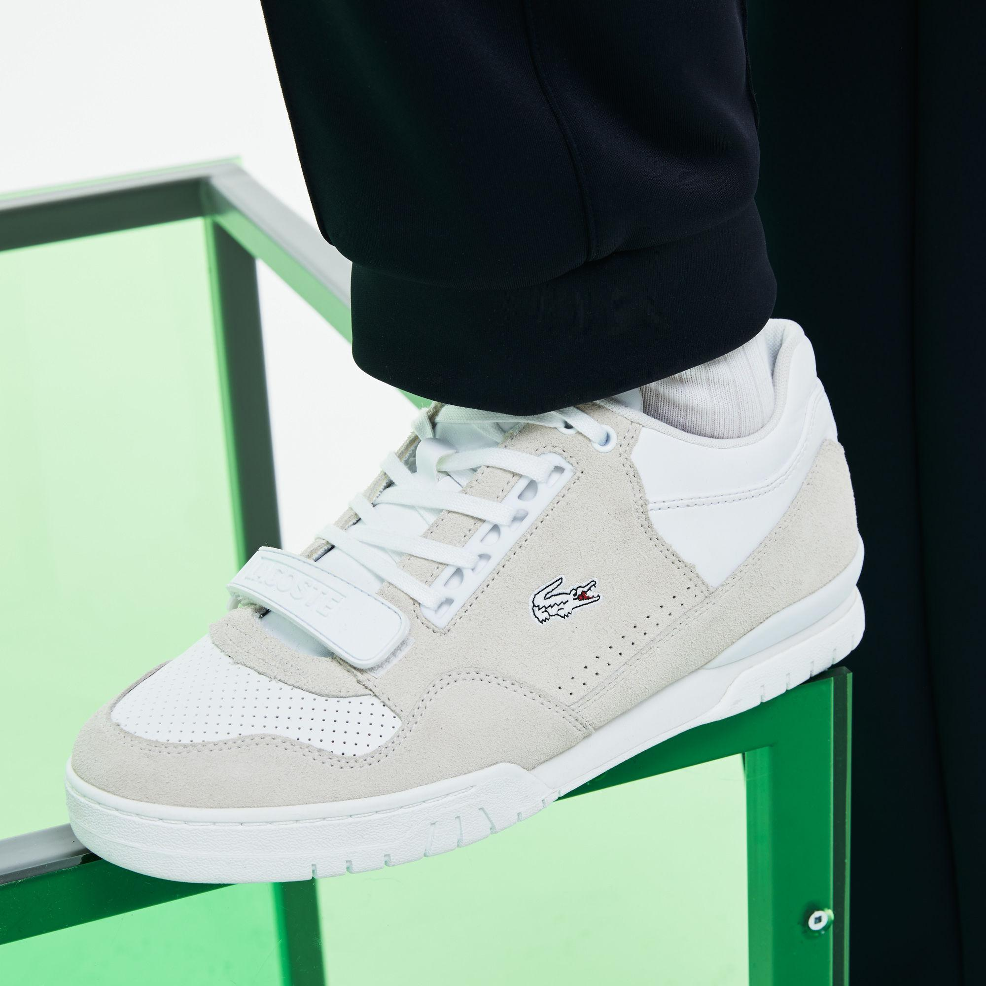 3ad062480 Lyst - Lacoste Fashion Show Missouri Leather Sneakers in White for Men
