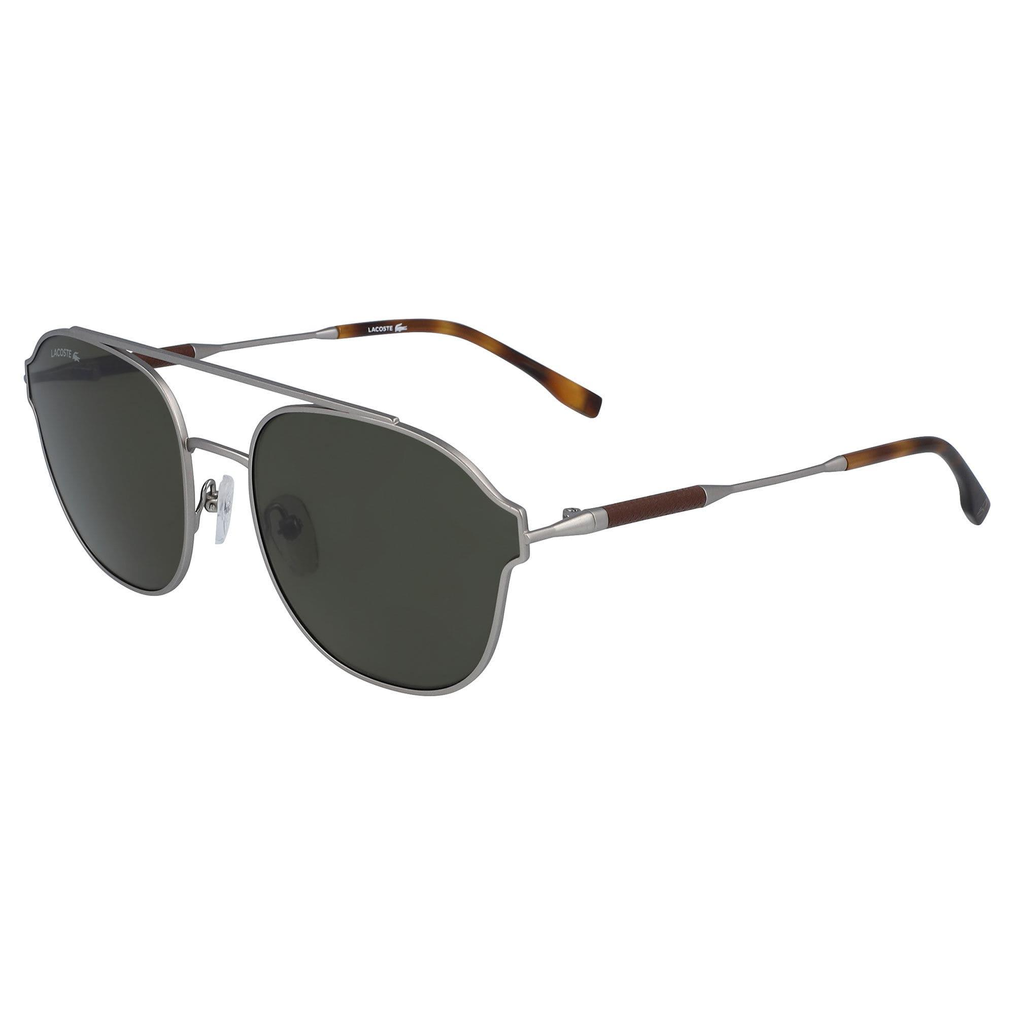 ff7135f157d2 Lacoste - Multicolor Navigator Metal Leather Punch Sunglasses - Lyst. View  fullscreen