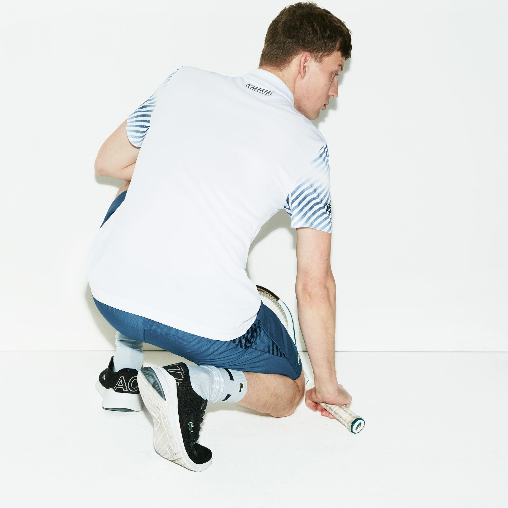 świetna jakość Data wydania: nowe style Lyst - Lacoste Sport Technical Piqué Tennis Polo in White ...