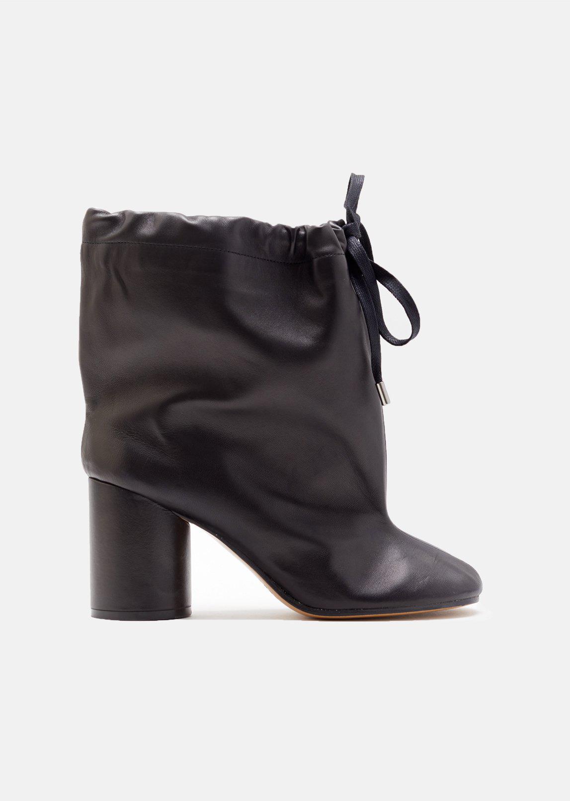 Maison Margiela White Soft Leather Tabi Boots Prix D'usine Libre Vente D'expédition En Ligne Vente Grand Escompte EQs7F