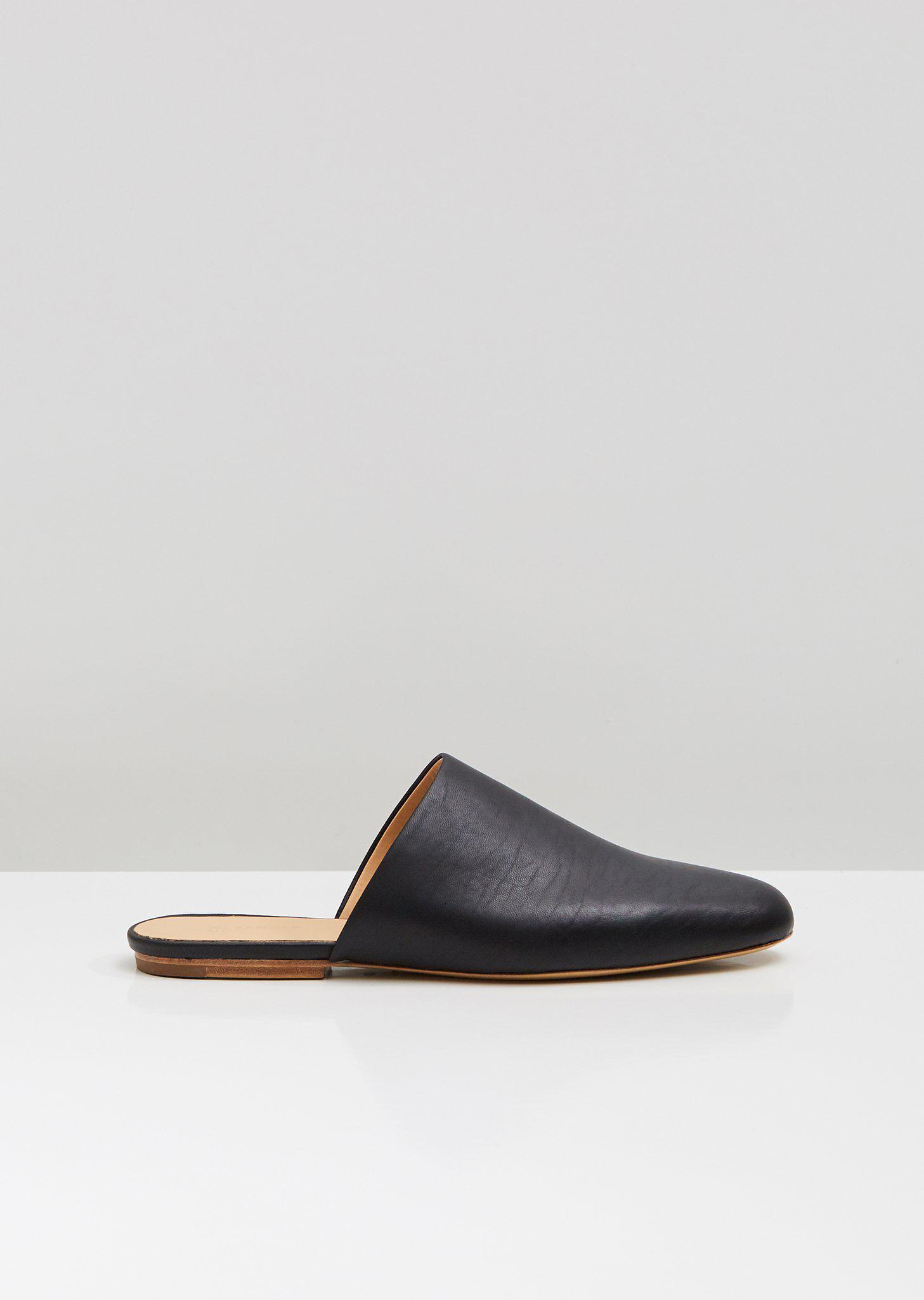 5ff3b14e2e39 Lyst - Jil Sander Navy Jn32001a (black) Women s Flat Shoes in Black