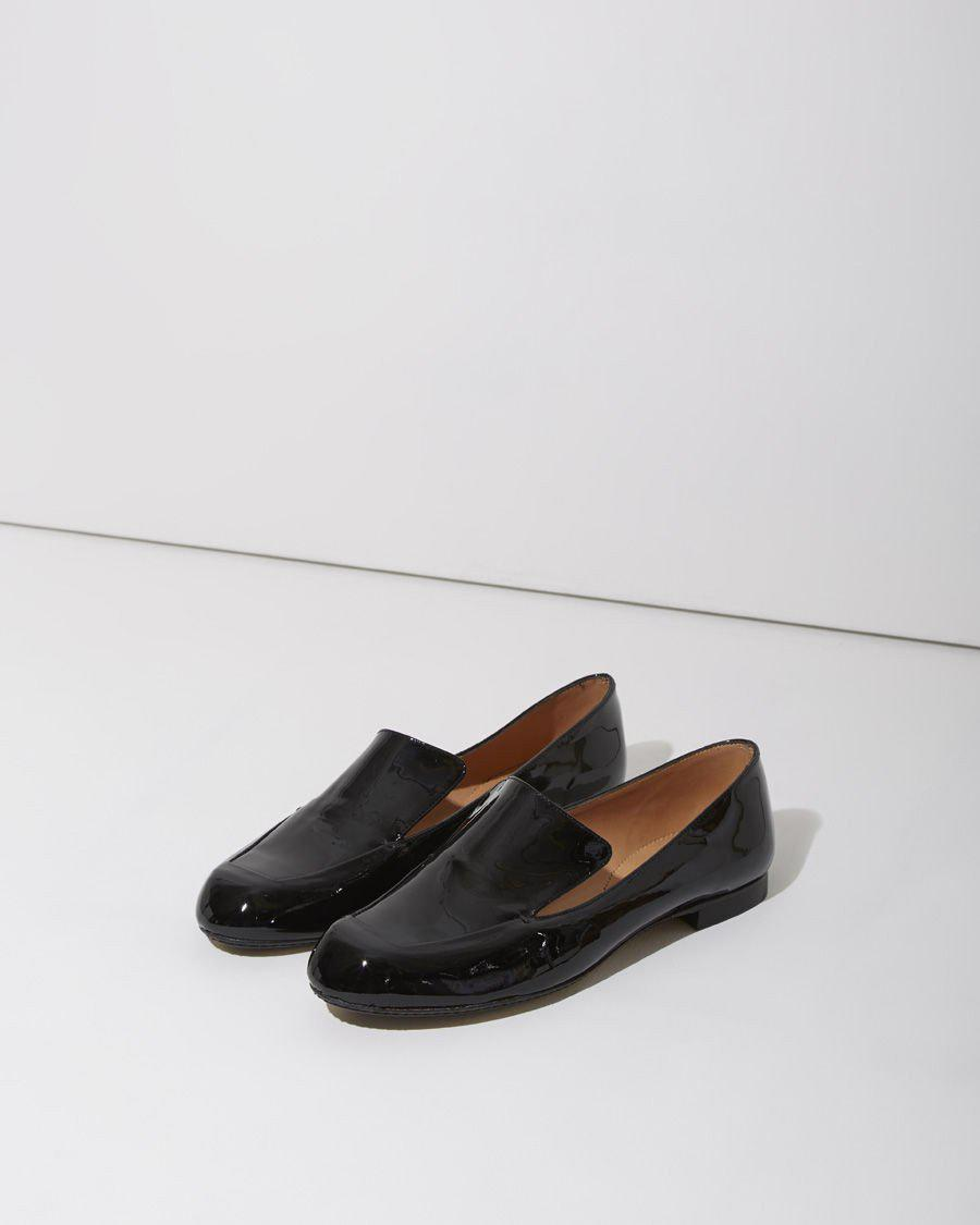 In Siko Loafer Clergerie Robert Patent Lyst Black Tl1FJcK3