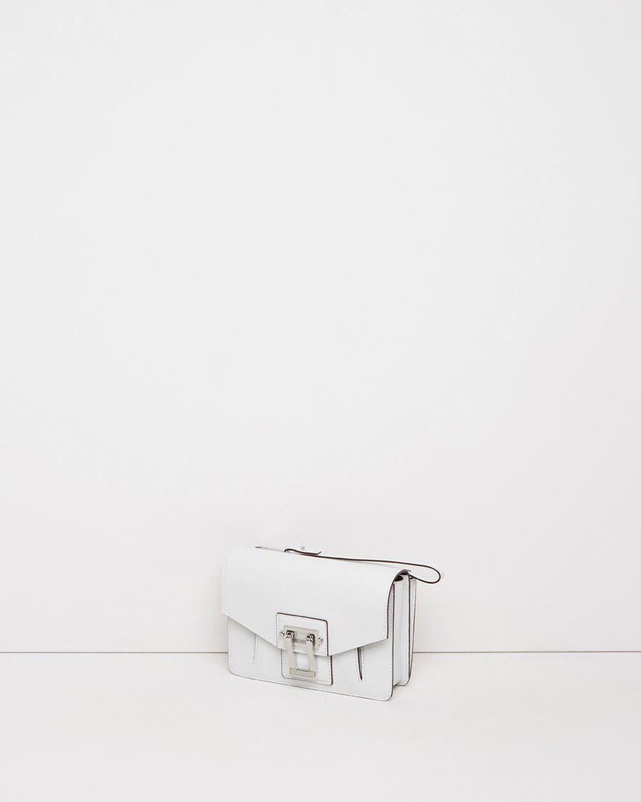 Lyst - Proenza Schouler Hava Clutch in White