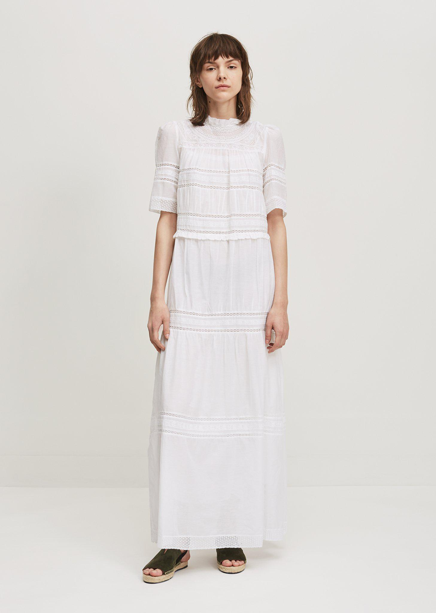 Vealy cotton-blend dress Isabel Marant Ut6nPRHCMK