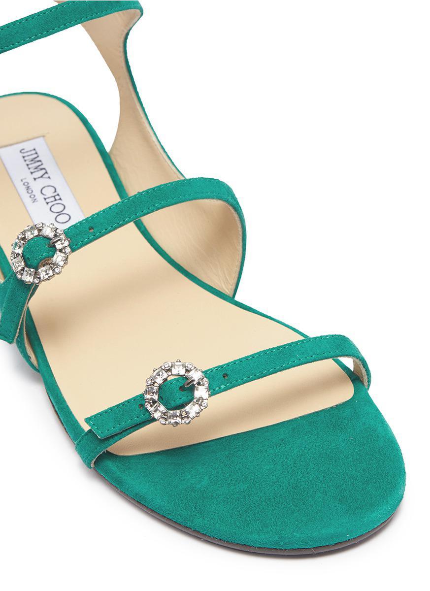 Naia buckle sandals - Green Jimmy Choo London M6Rbf