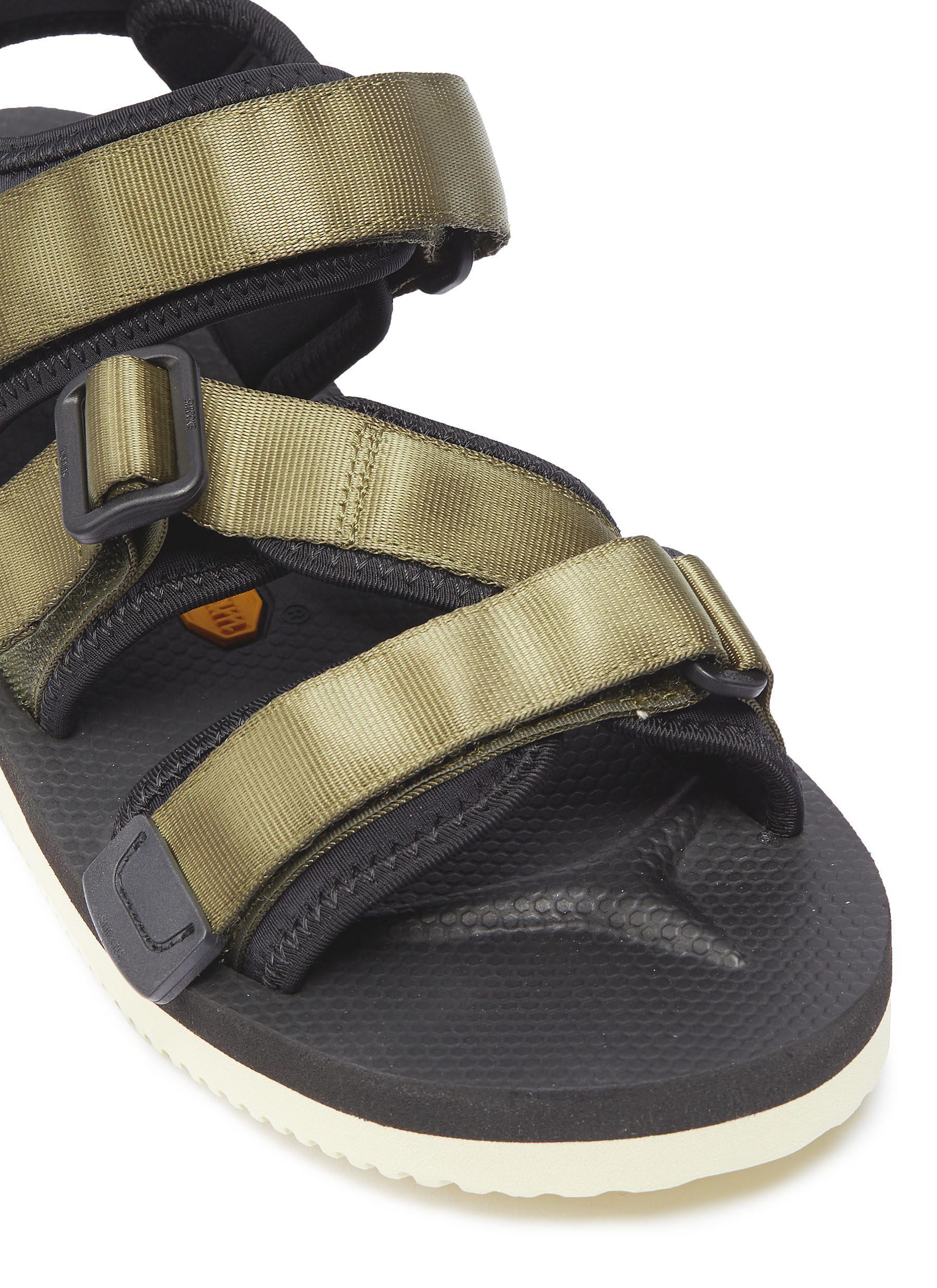 07e1d27e7f24 Suicoke - Green  kisee-v  Strappy Sandals - Lyst. View fullscreen