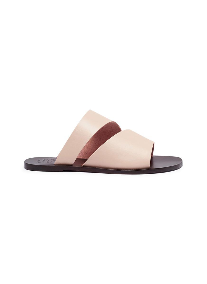ATP Atelier Leather Flip Flops 3e1PuswGSy