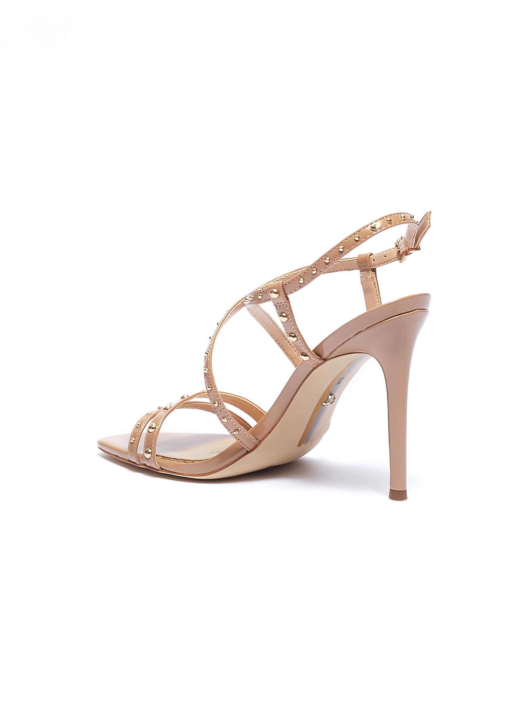 13cd6408c Lyst - Sam Edelman  lennox  Stud Strappy Patent Sandals for Men
