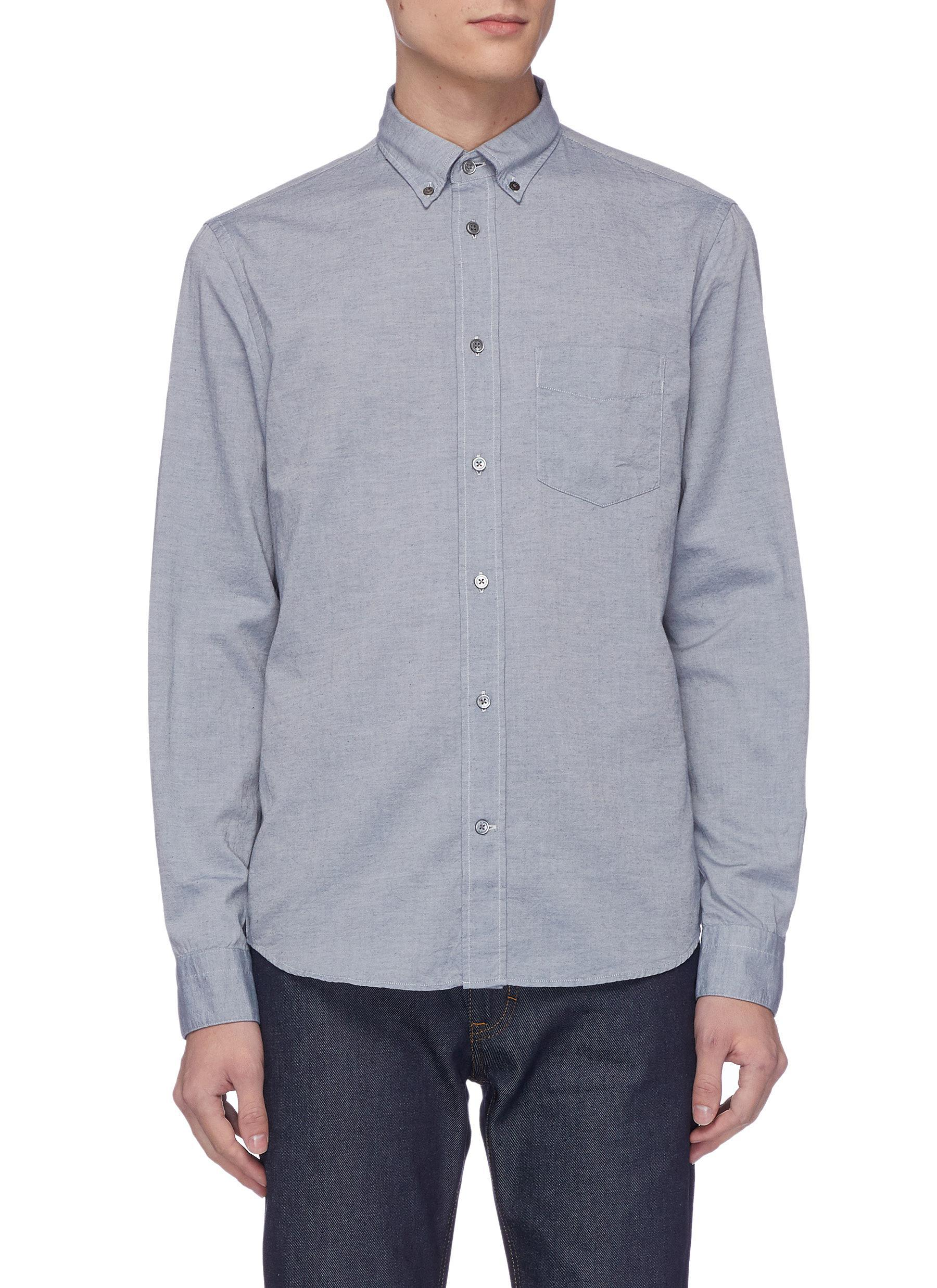 a57dfb2256 Acne Studios  isherwood  Chambray Shirt in Blue for Men - Lyst