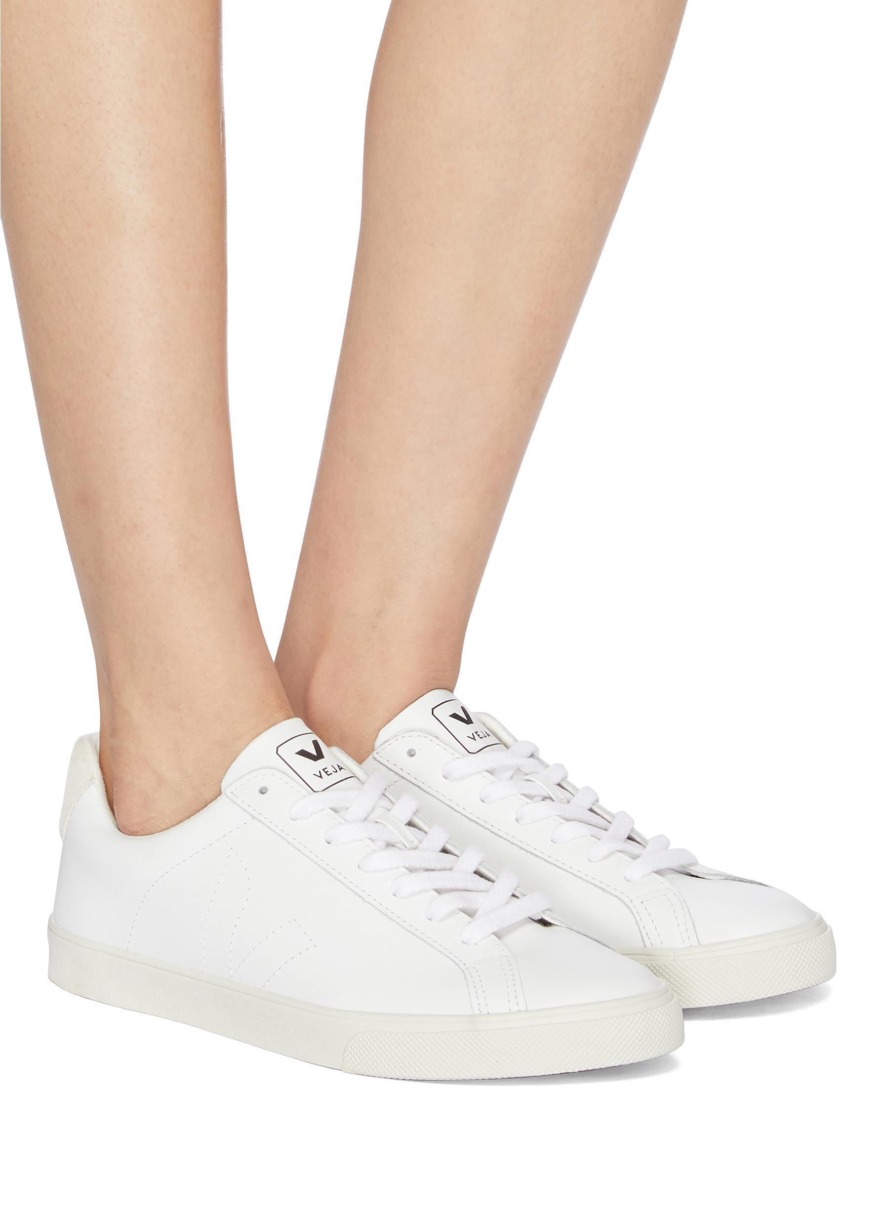 3eaa6f60ba Veja - White  esplar  Leather Sneakers - Lyst. View fullscreen