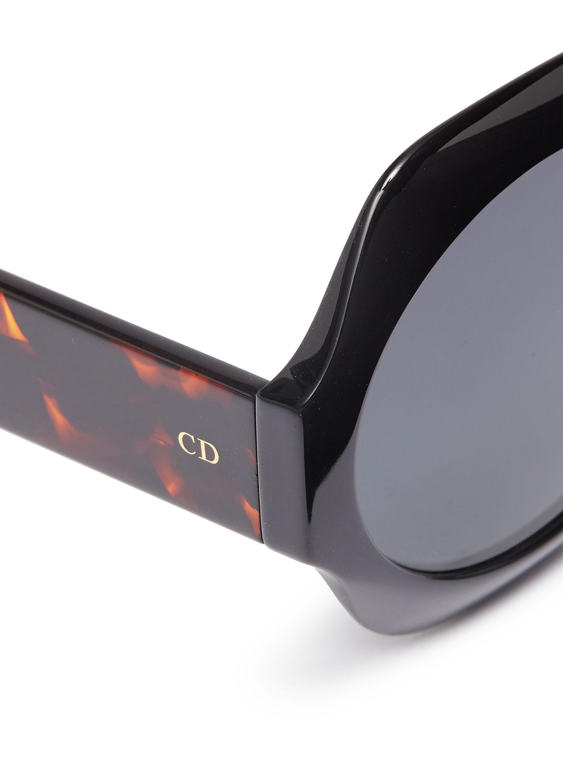 5c3763c4ea Dior - Black   Spirit 1  Octagon Frame Acetate Sunglasses - Lyst. View  fullscreen