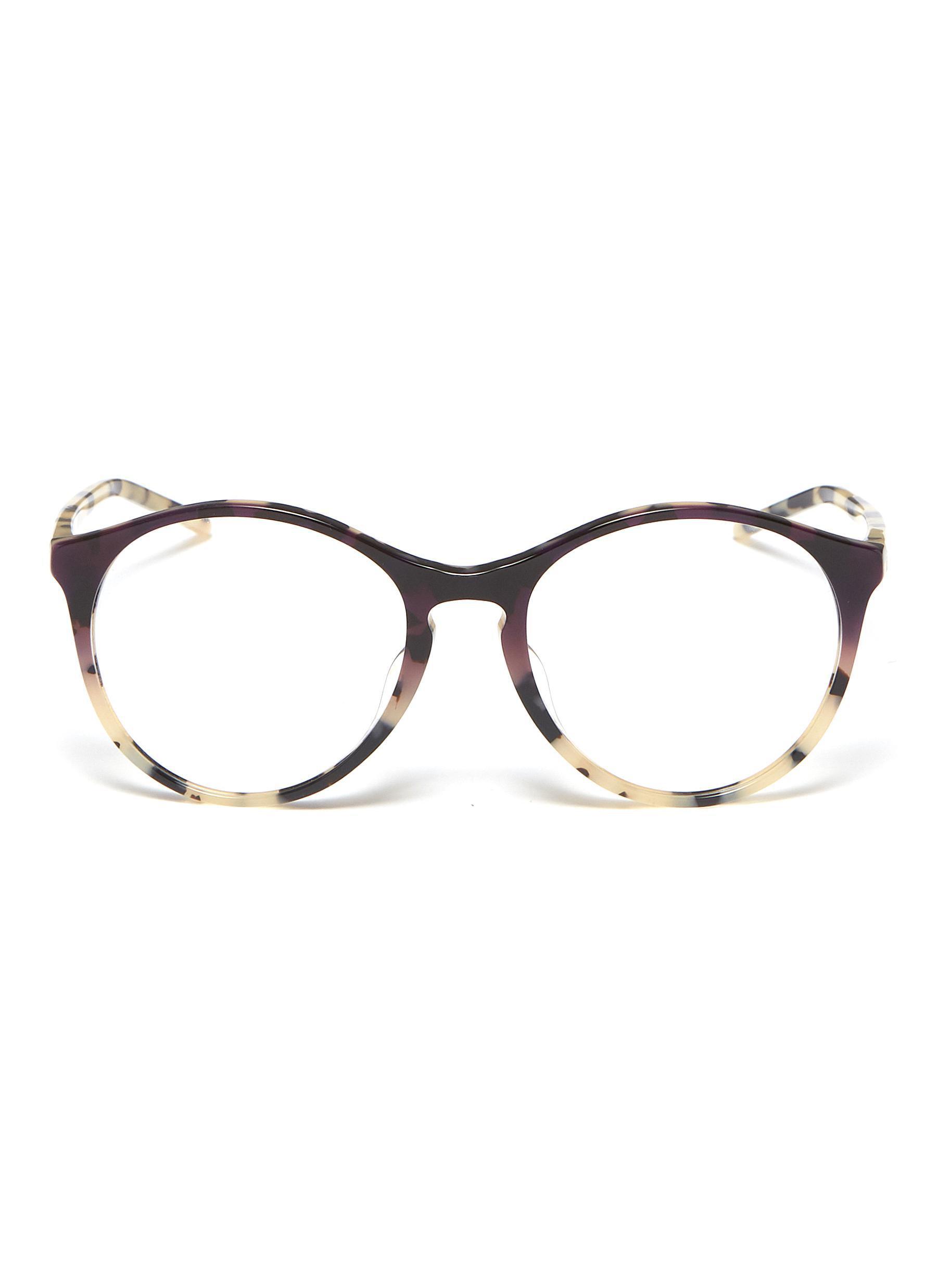29ec8982241f97 Ray-Ban  rx5371  Tortoiseshell Acetate Panto Optical Glasses - Lyst