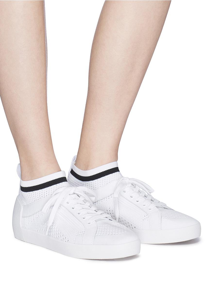 Ash Women's Nolita Mid Top Sock Sneaker ijtvz5IB