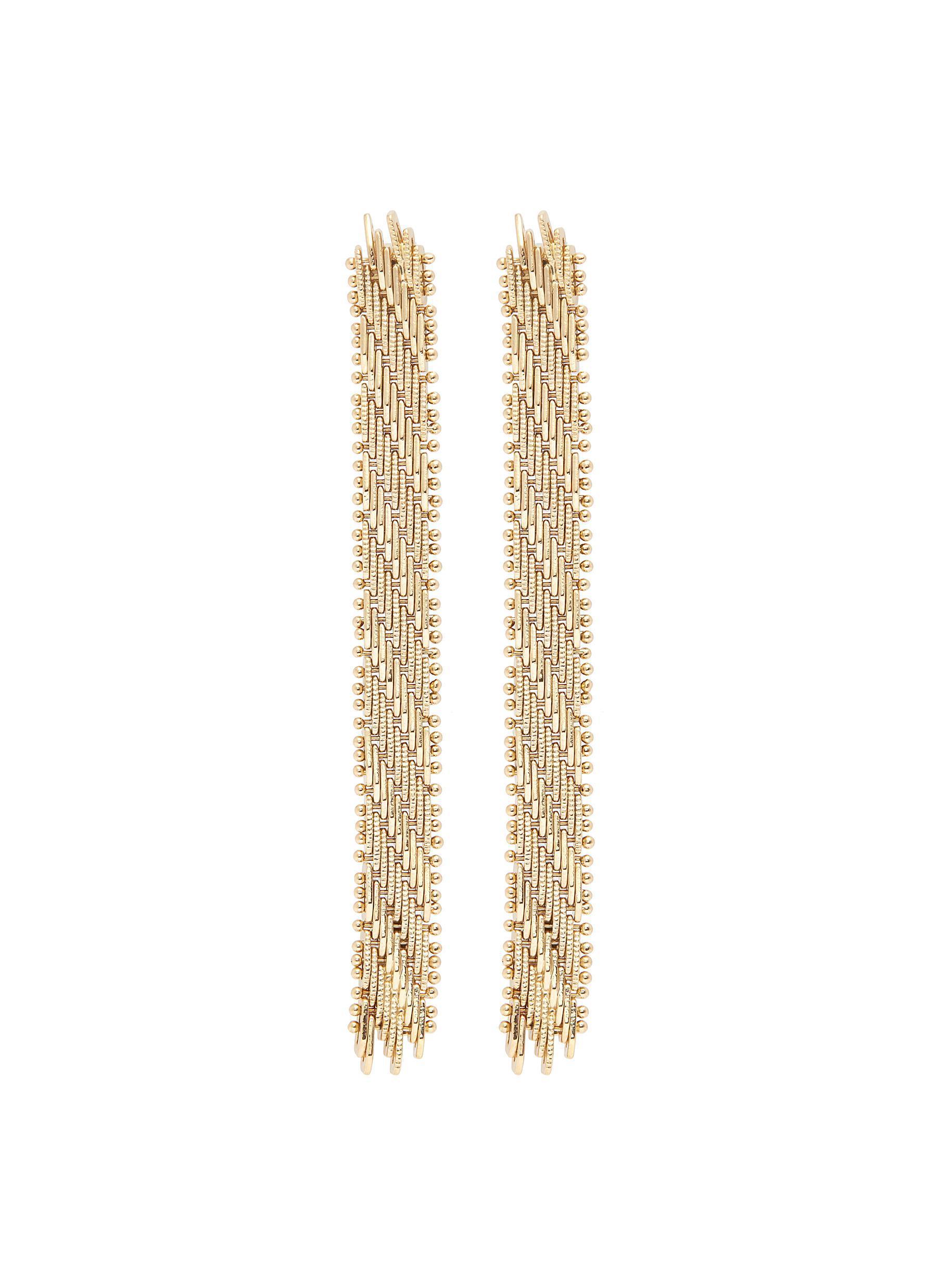 Rosantica Brass Volutta rope earrings b6Ya3u3ZW