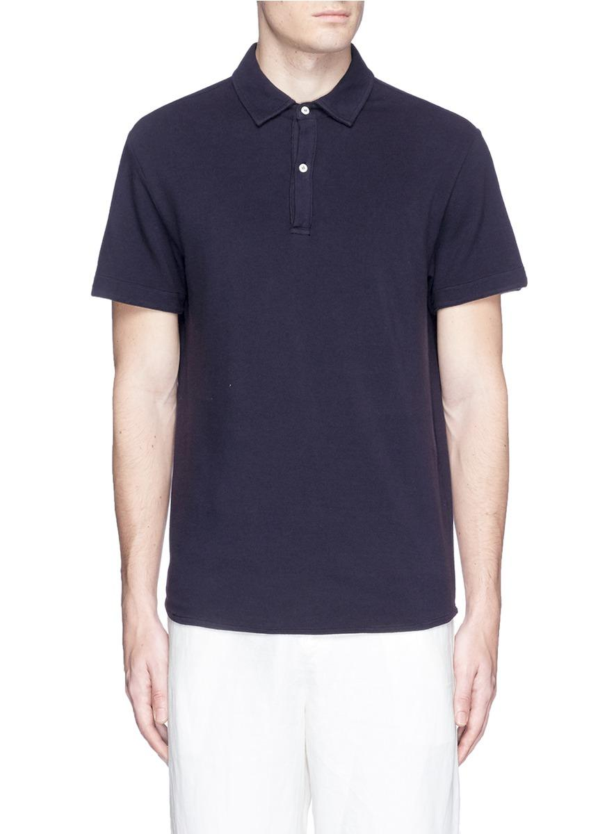 Lyst Eidos Cotton Polo Shirt In Blue For Men