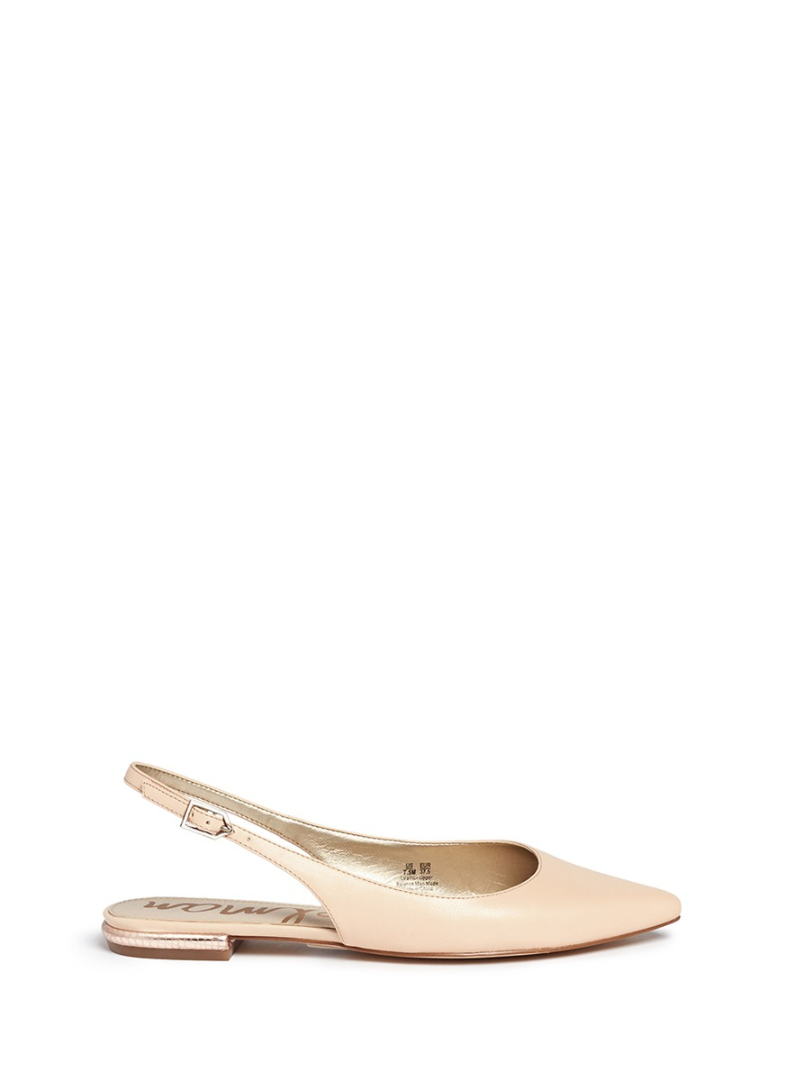 Sam Edelman Shoes Gold Heel