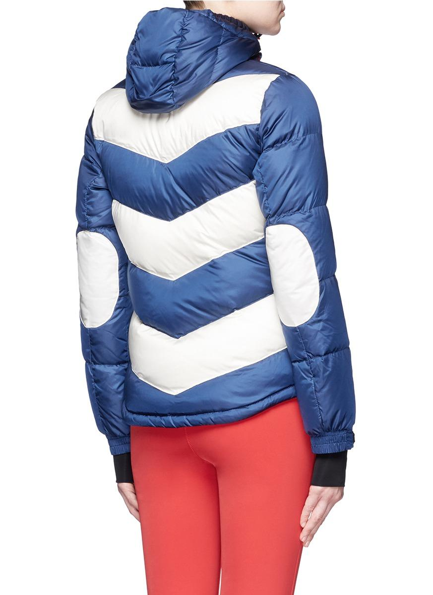 Lyst Perfect Moment Super Day Chevron Quilted Down Ski