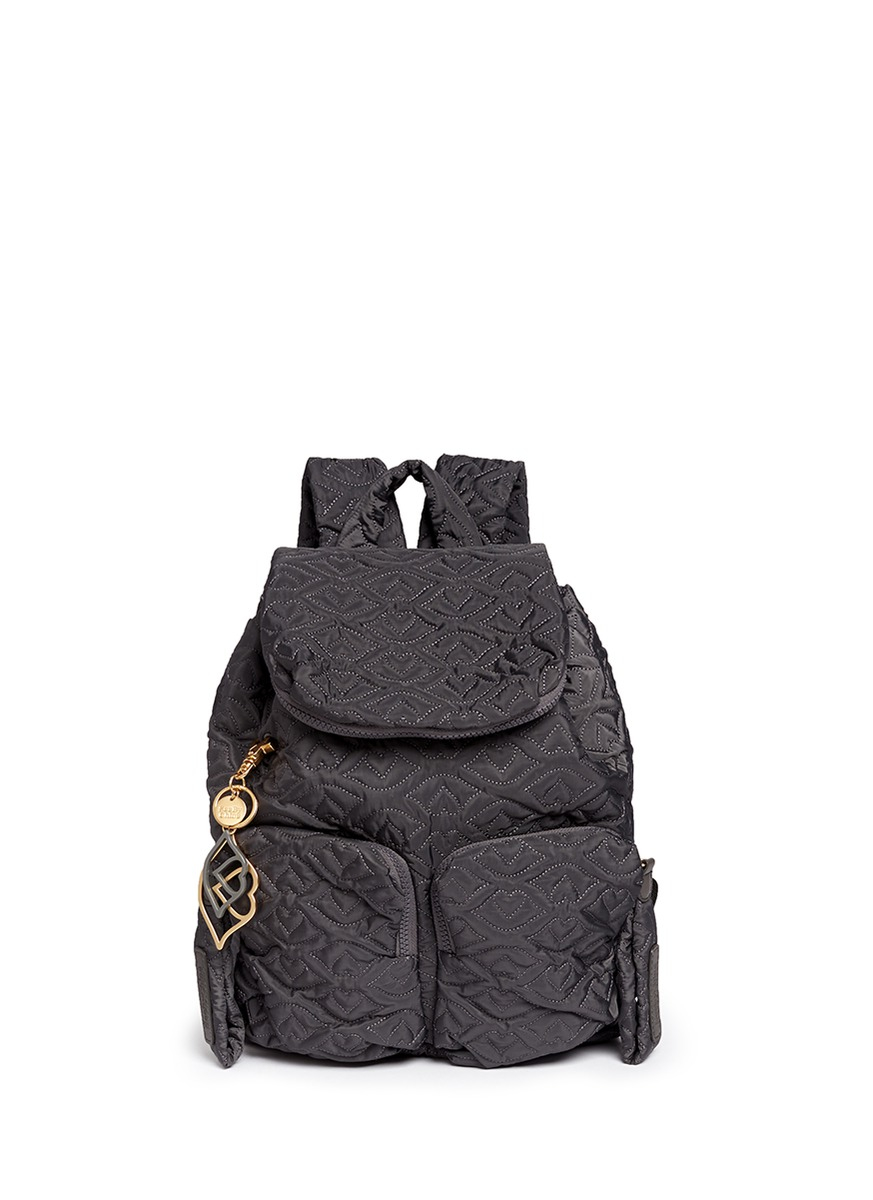 Lyst - See By Chloé Joyrider Bisou Backpack in Black be8ce828dce62