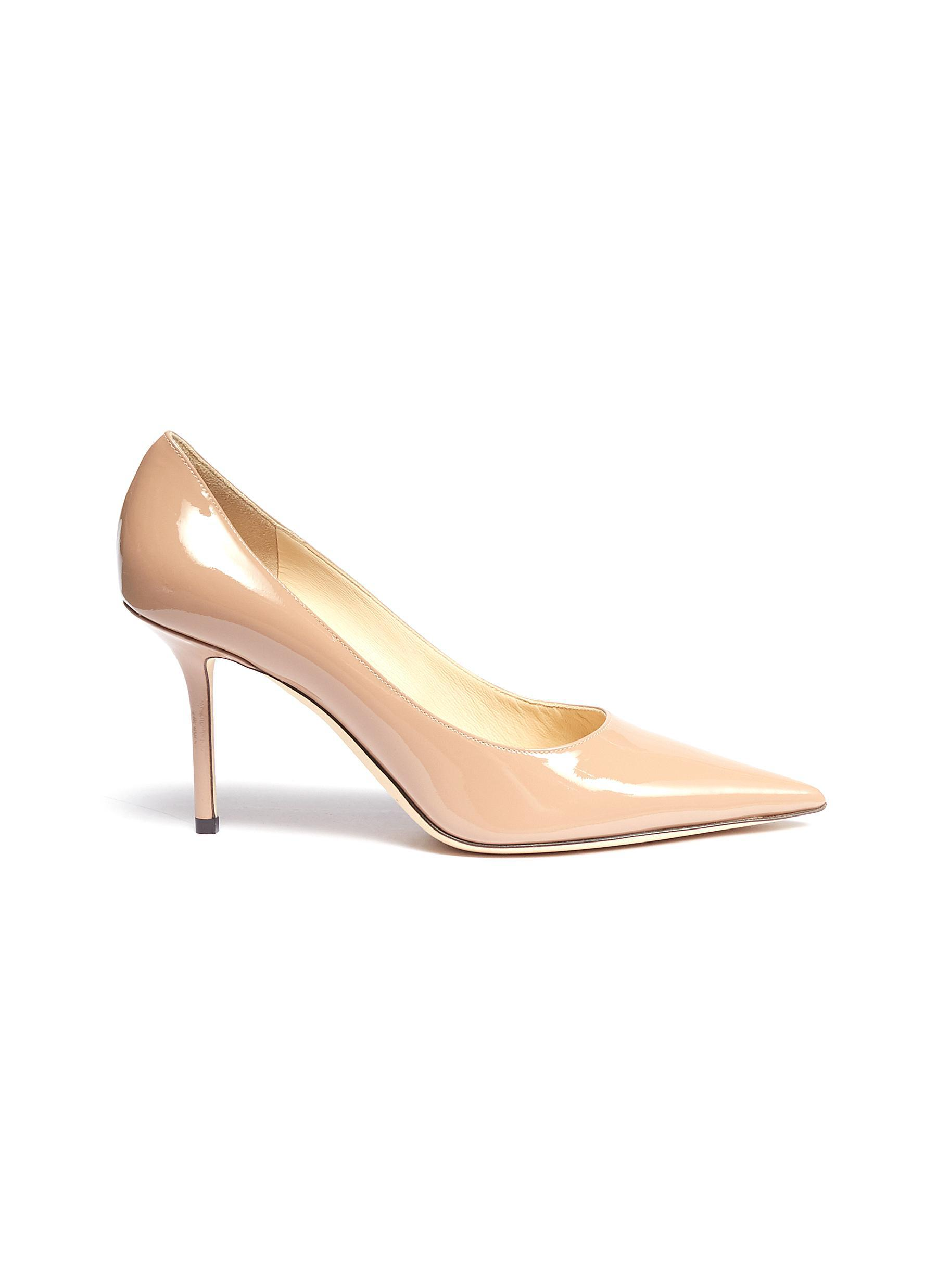 921b6de1d28f Lyst - Jimmy Choo  love 85  Patent Leather Pumps in Pink