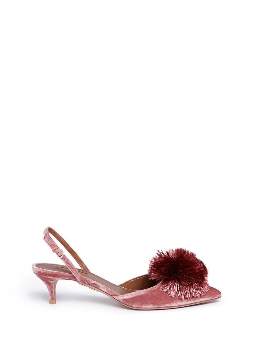 Powder Puff 45 slingback pumps Aquazzura s75N0Ew